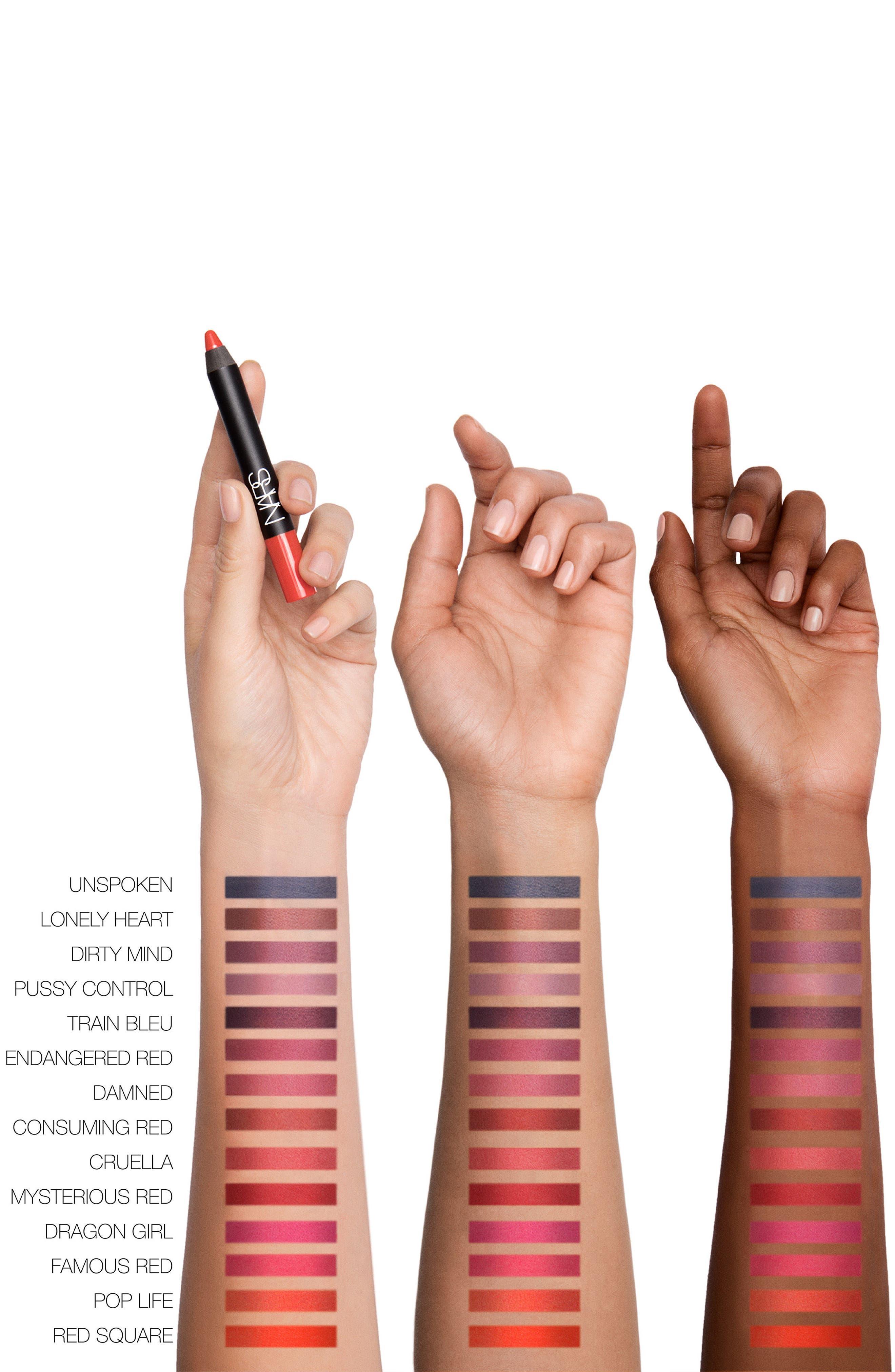 Velvet Matte Lipstick Pencil,                             Alternate thumbnail 4, color,
