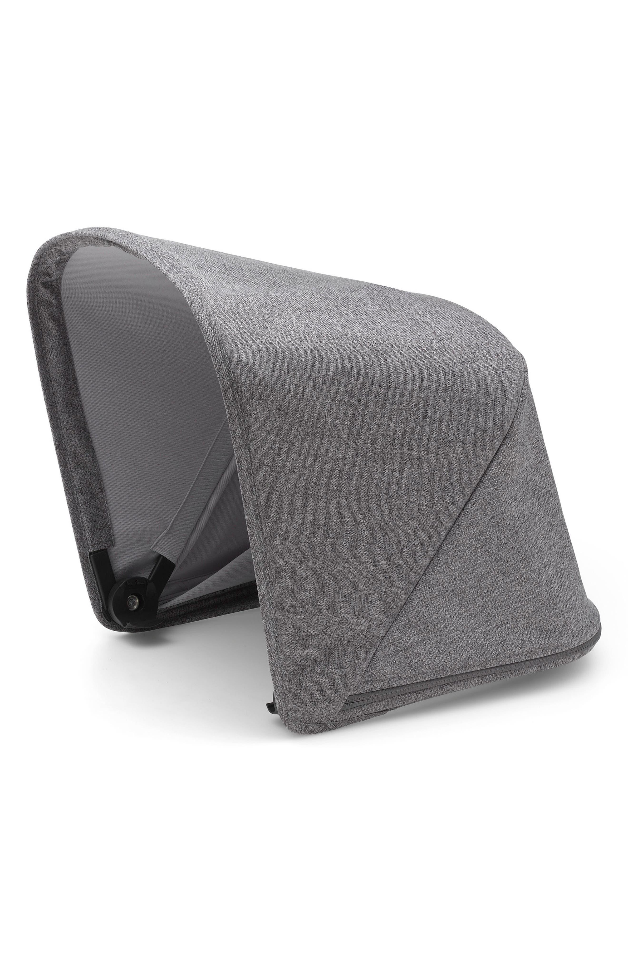 Sun Canopy for Bugaboo Fox Stroller,                         Main,                         color, Grey Melange