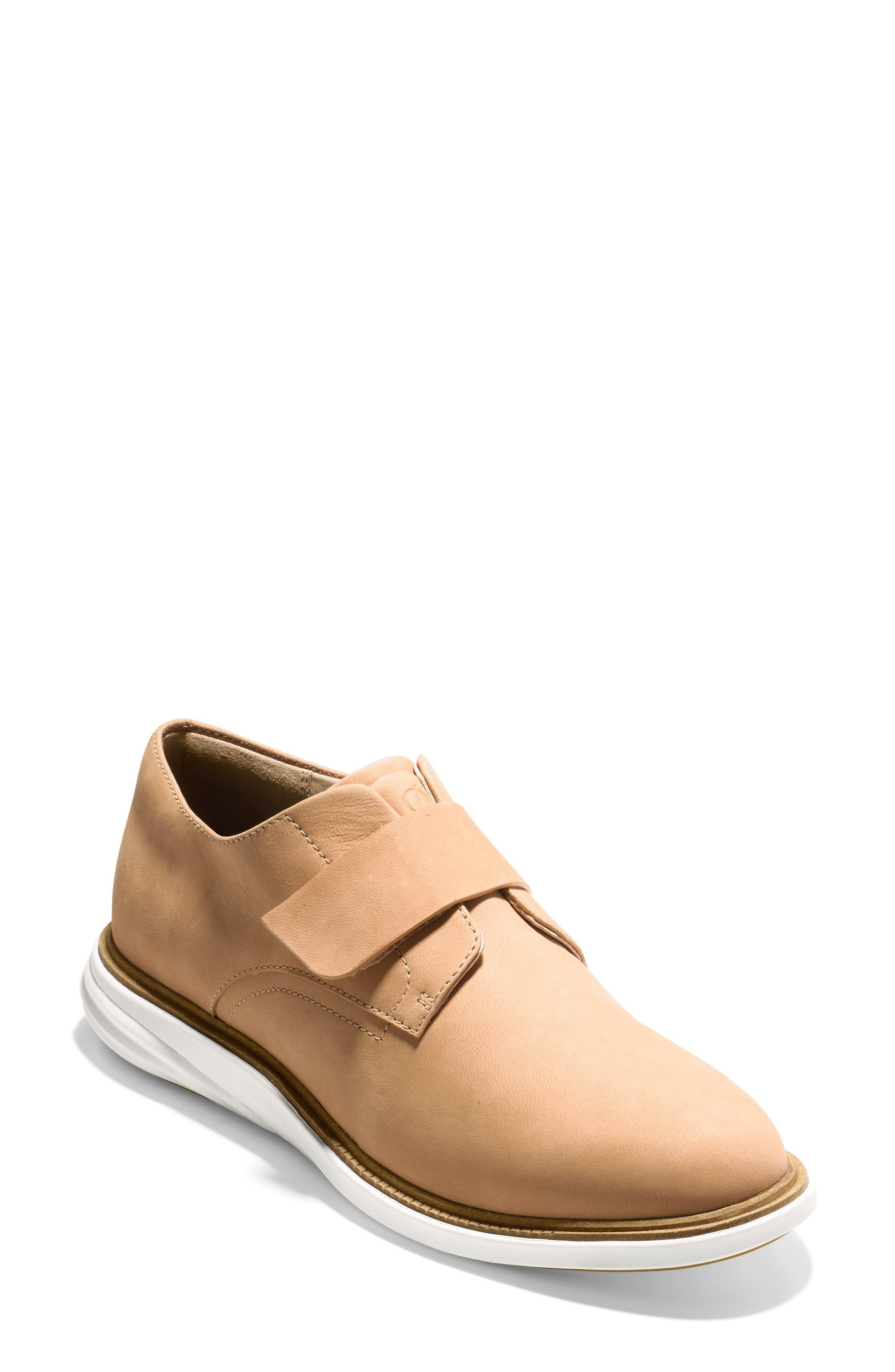 Grandevolution Oxford Sneaker,                             Main thumbnail 1, color,                             Iced Coffee Nubuck