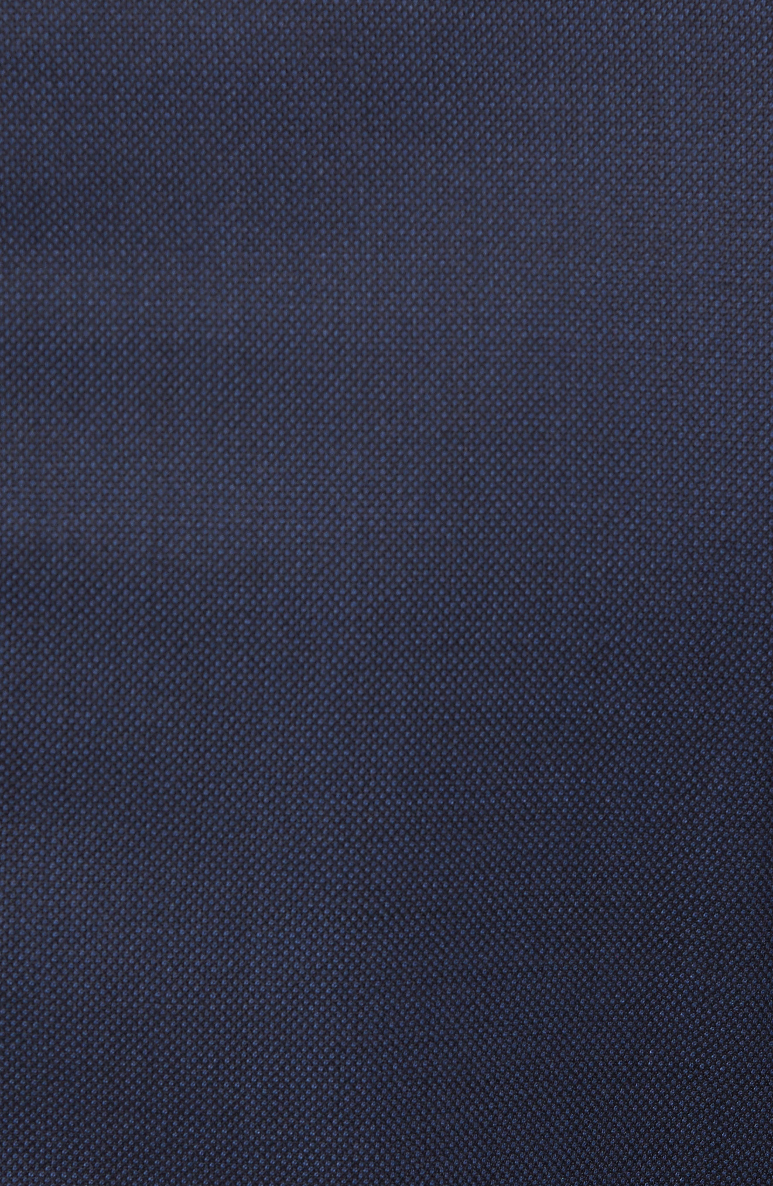 Classic Fit Bird's Eye Wool Suit,                             Alternate thumbnail 7, color,                             Navy