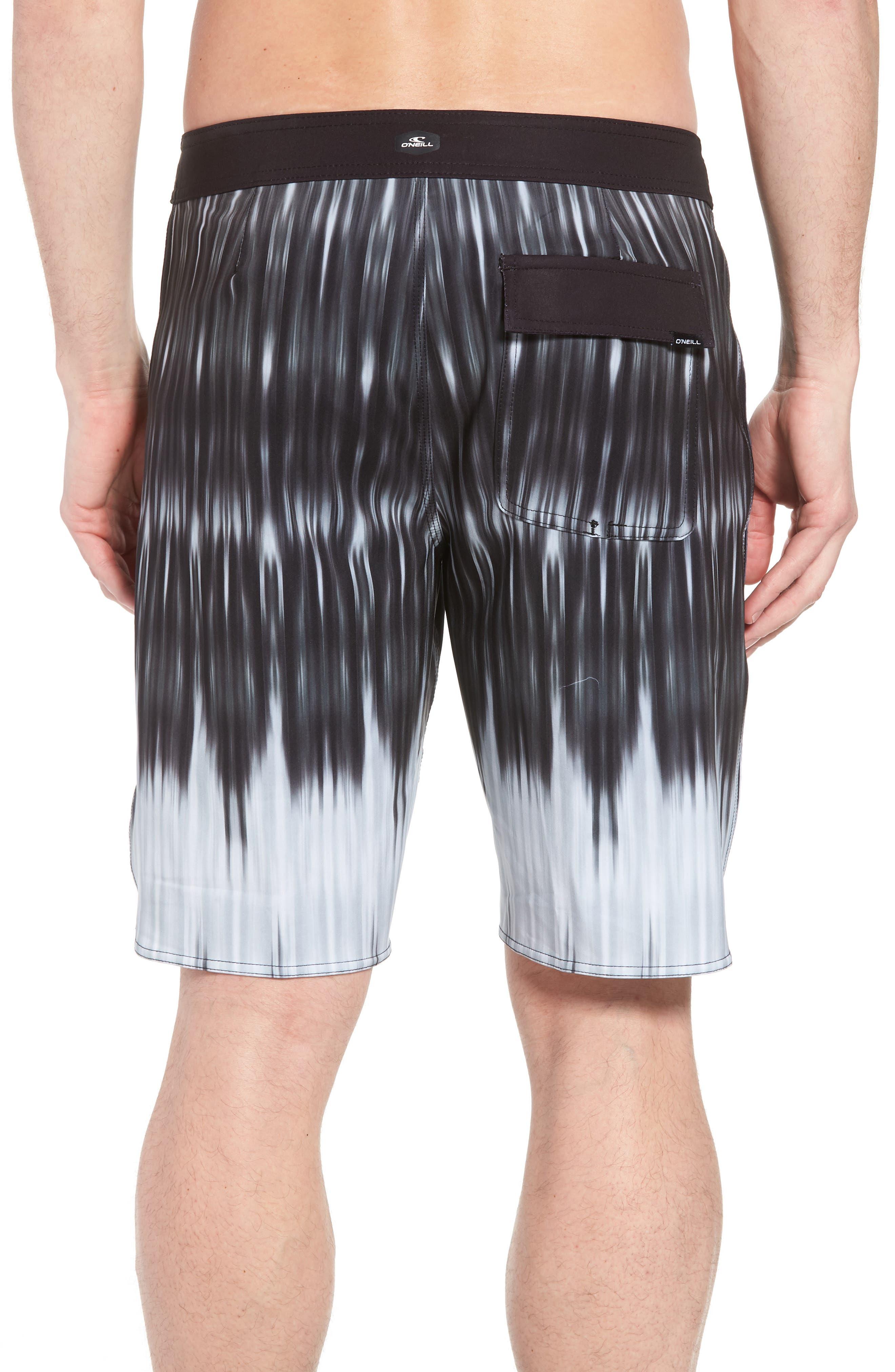 Superfreak Dimension Board Shorts,                             Alternate thumbnail 2, color,                             Black