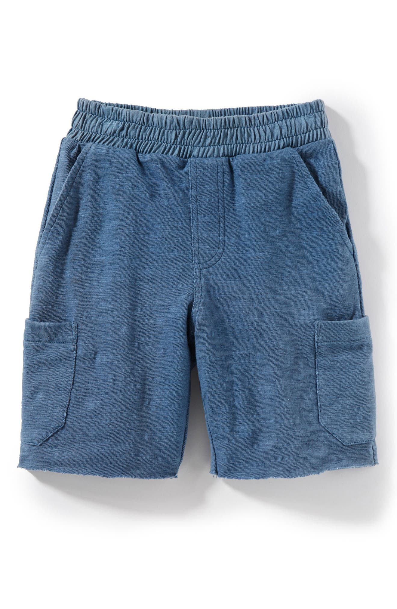 Asher Knit Shorts,                         Main,                         color, Indigo