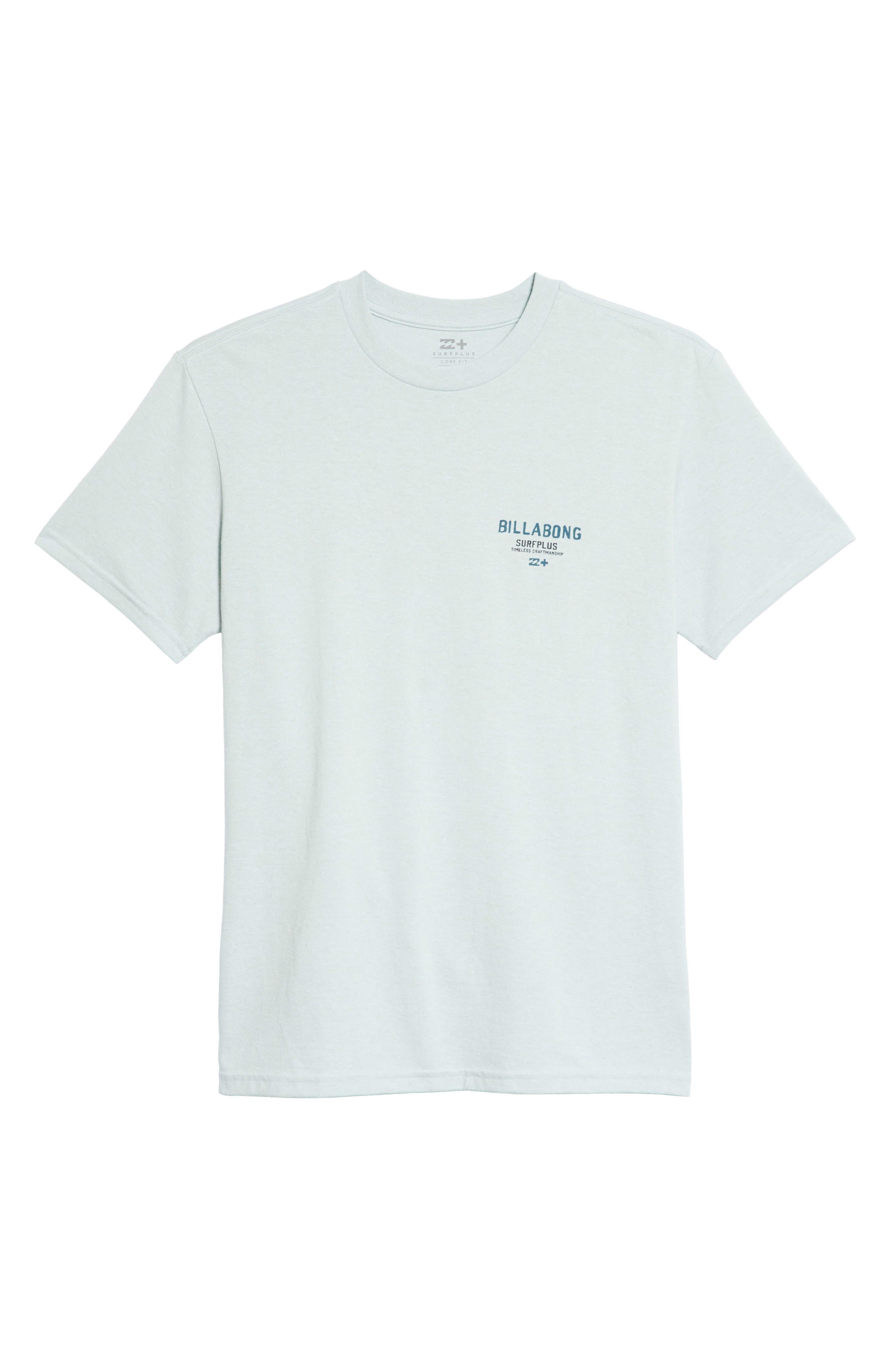 Dawn Patrol Graphic T-Shirt,                             Alternate thumbnail 6, color,                             Light Aqua