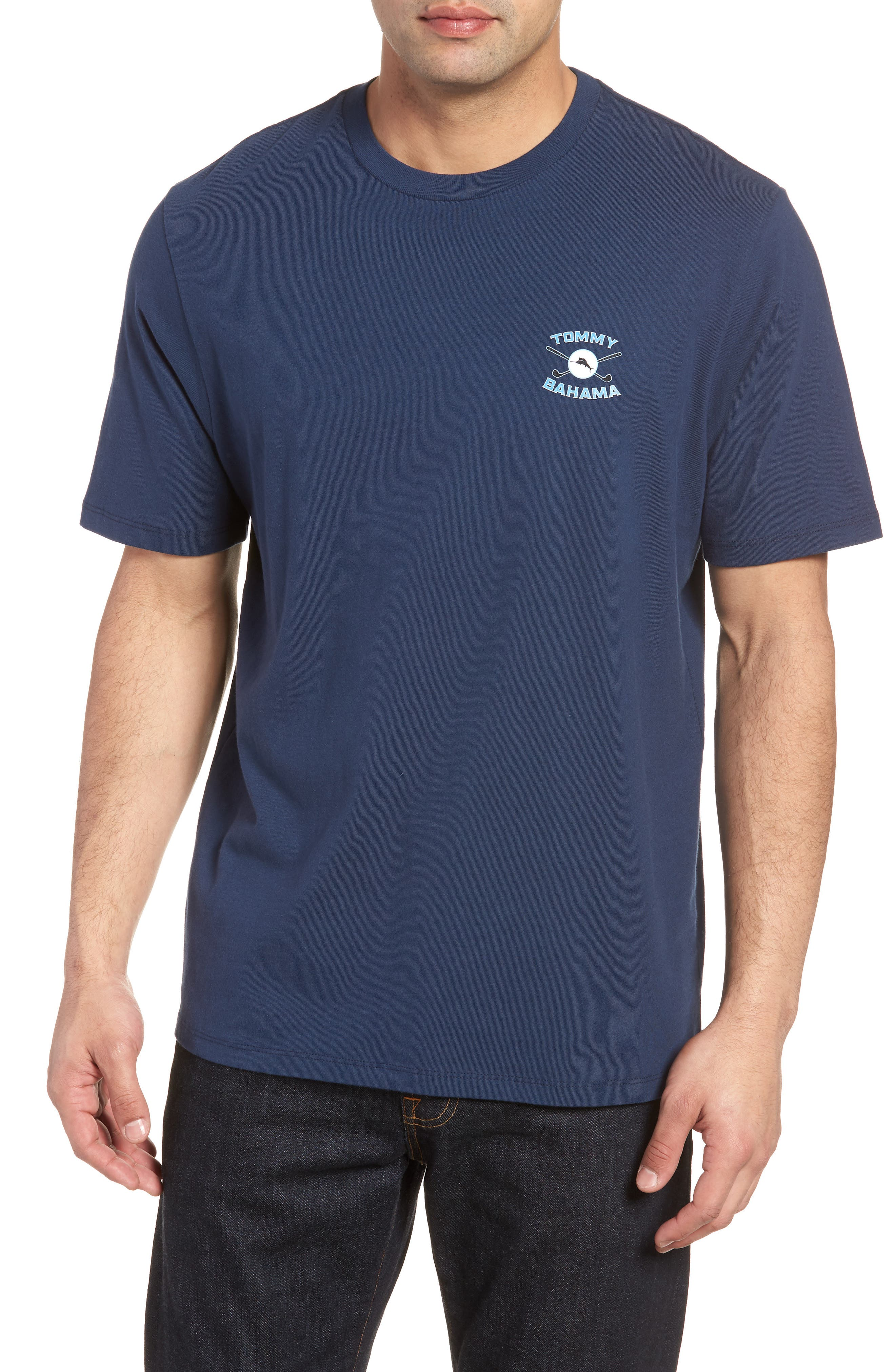 The Lawn Ranger T-Shirt,                         Main,                         color, Navy