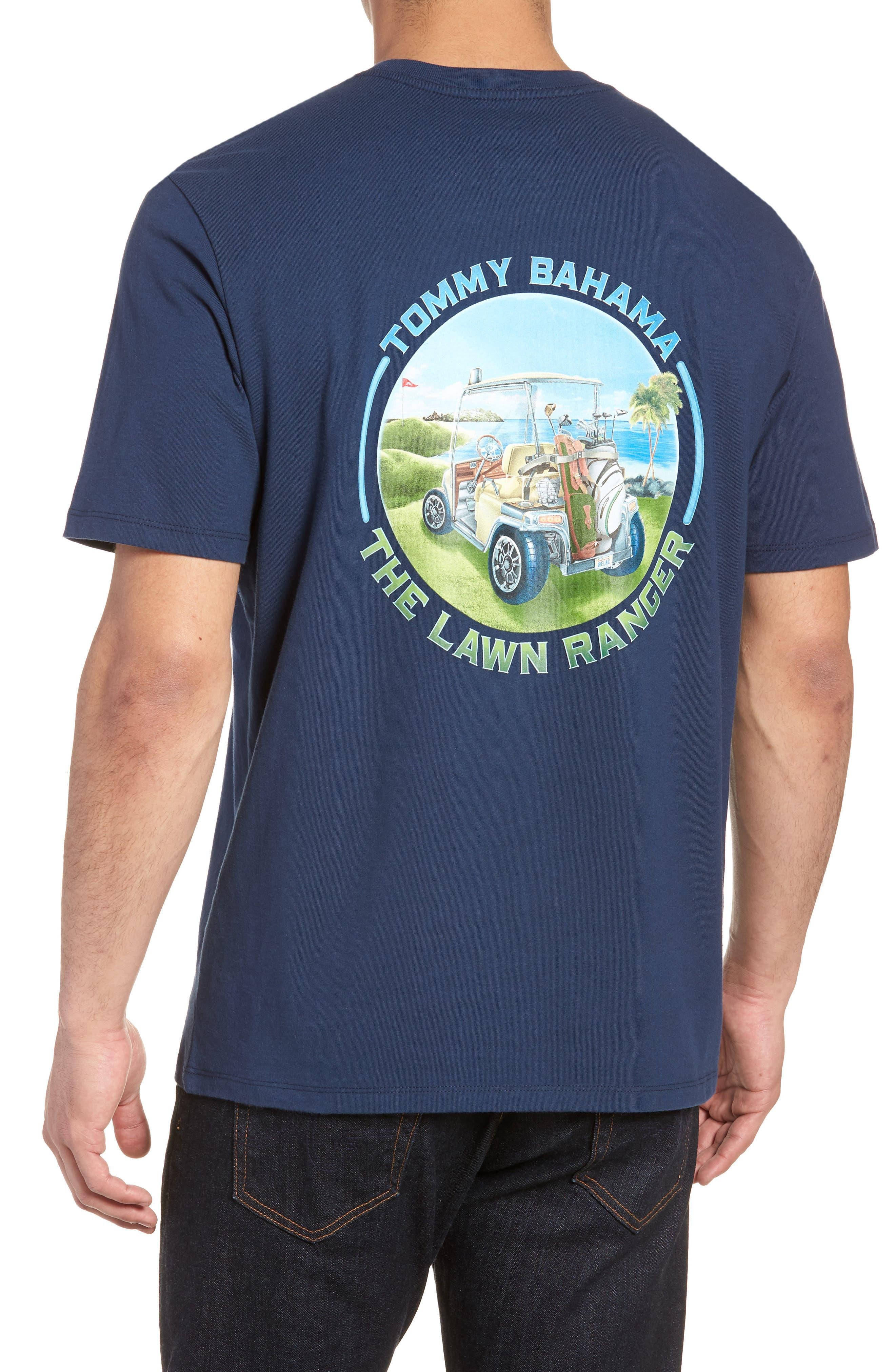 The Lawn Ranger T-Shirt,                             Alternate thumbnail 2, color,                             Navy