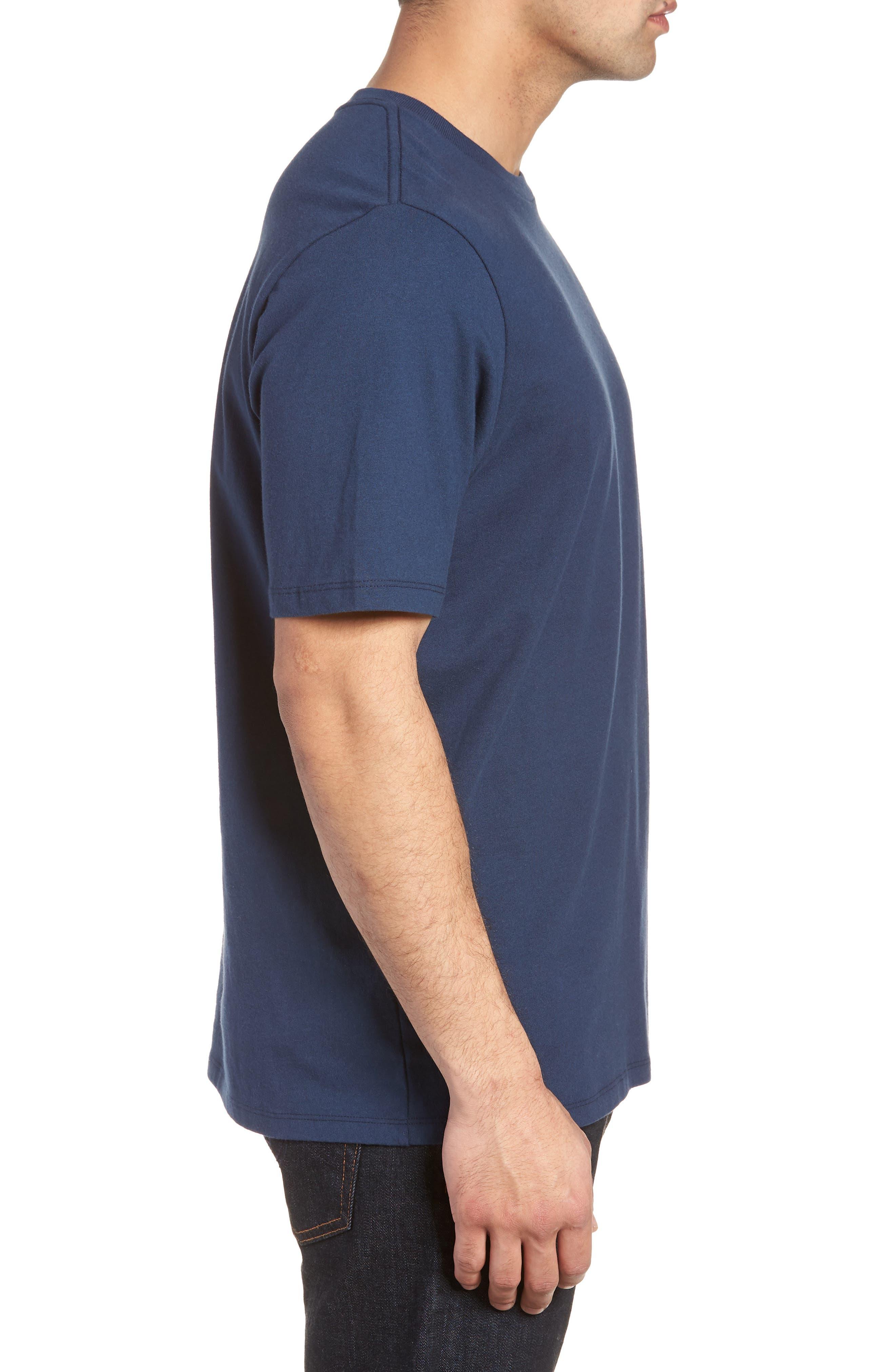 The Lawn Ranger T-Shirt,                             Alternate thumbnail 3, color,                             Navy