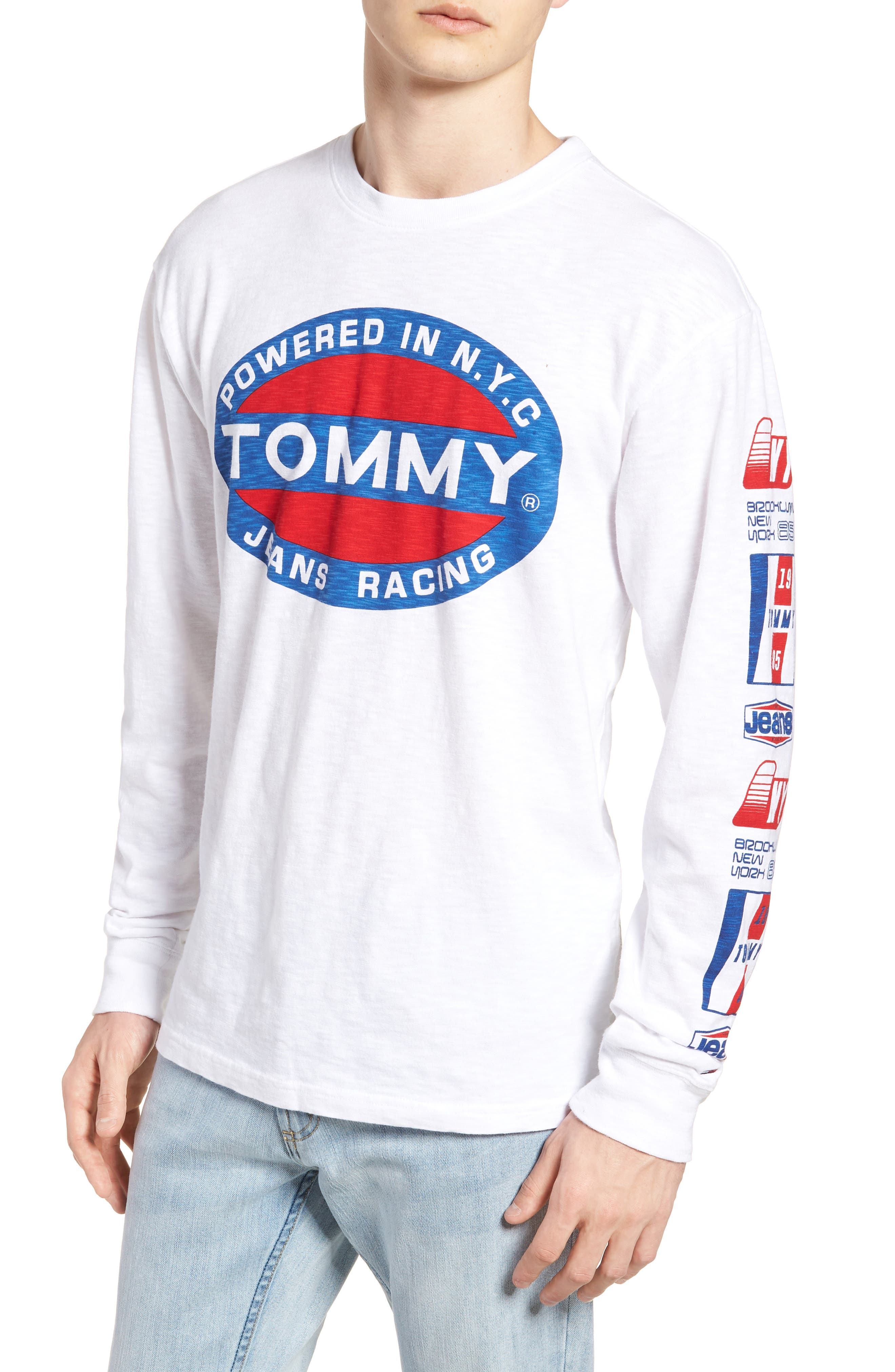 Alternate Image 1 Selected - TOMMY JEANS Logo Graphic T-Shirt