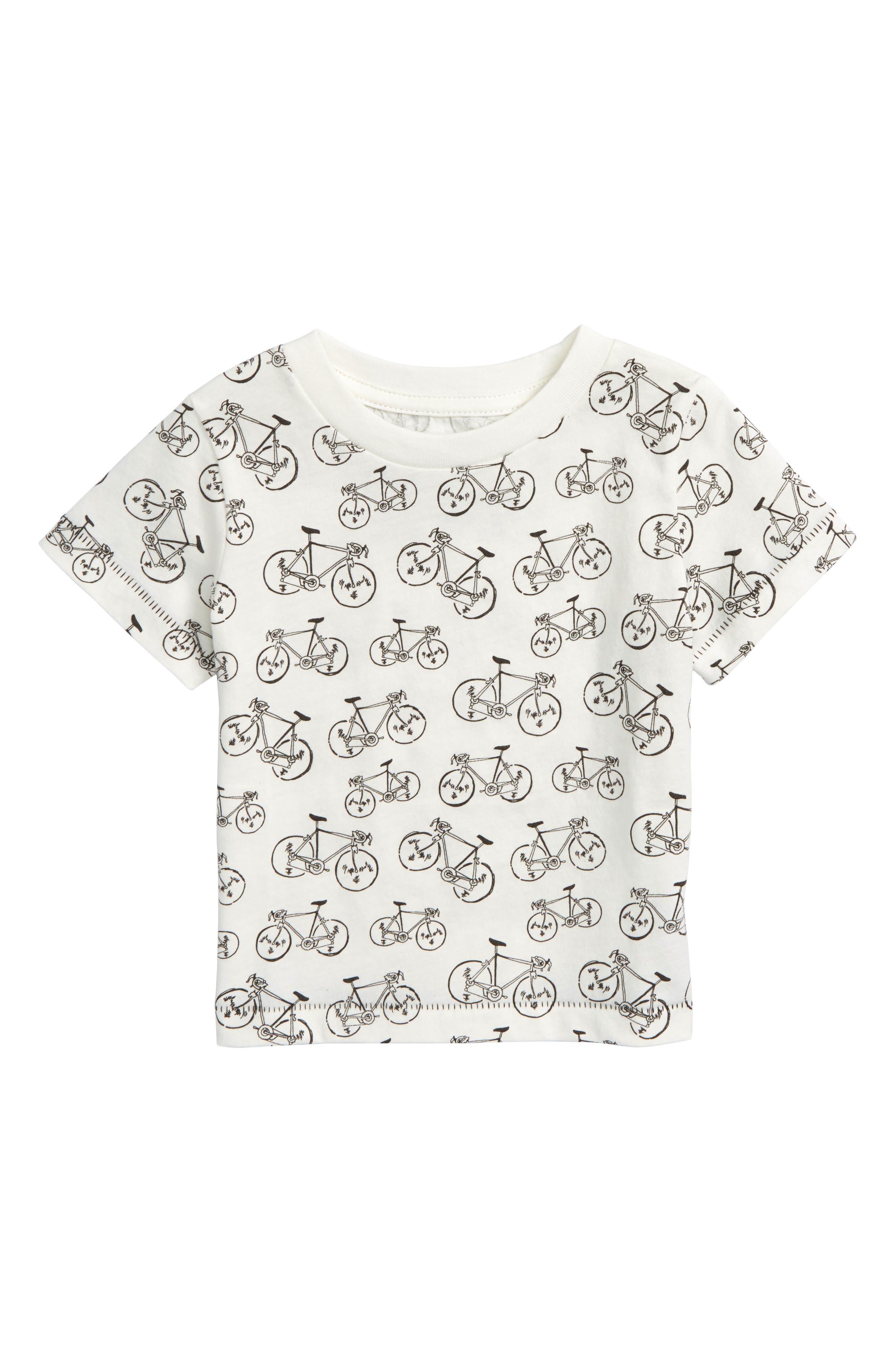 Peek Allover Bike Graphic T-Shirt (Baby Boys)