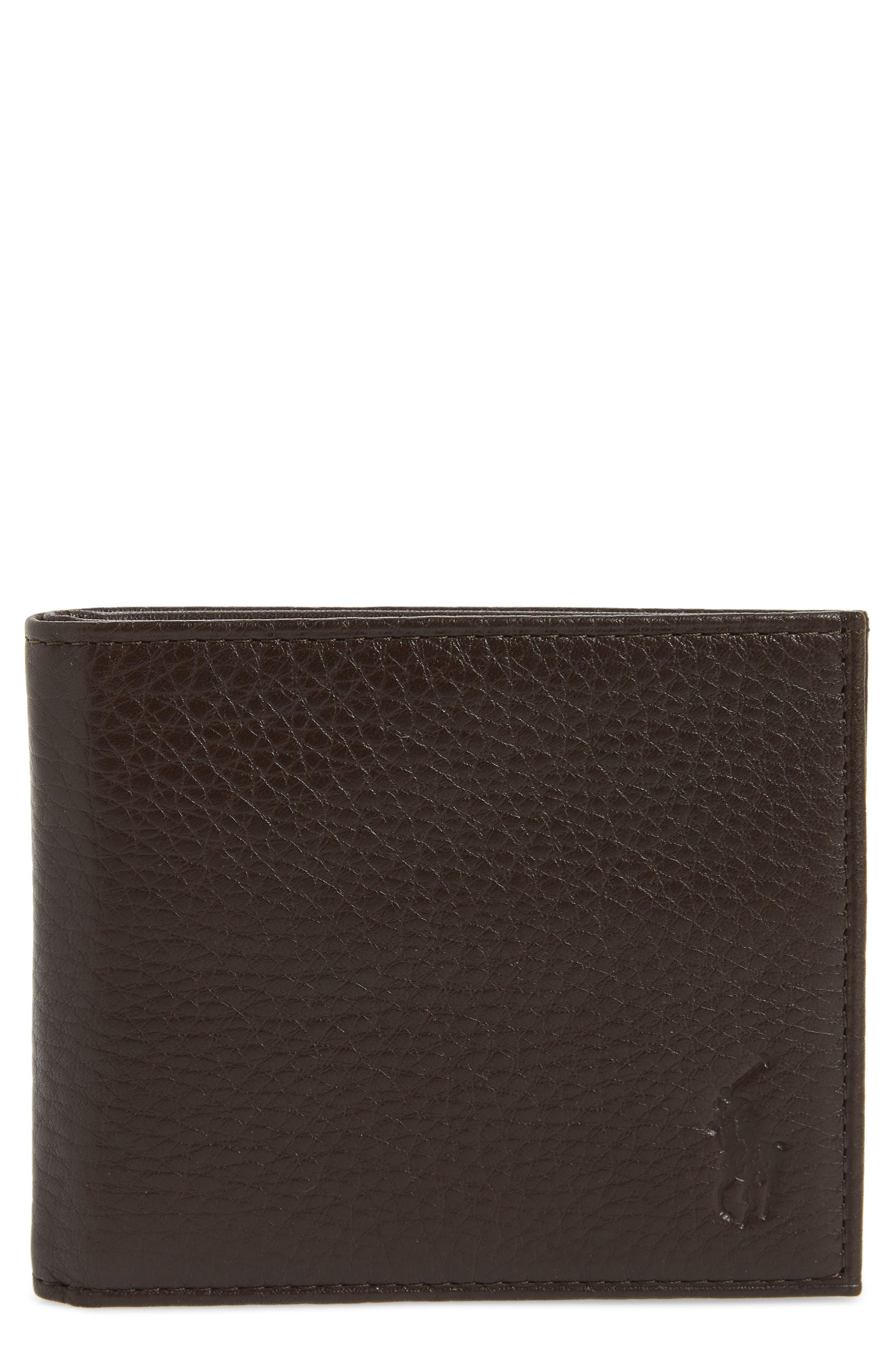 Main Image - Polo Ralph Lauren Bifold Leather Wallet