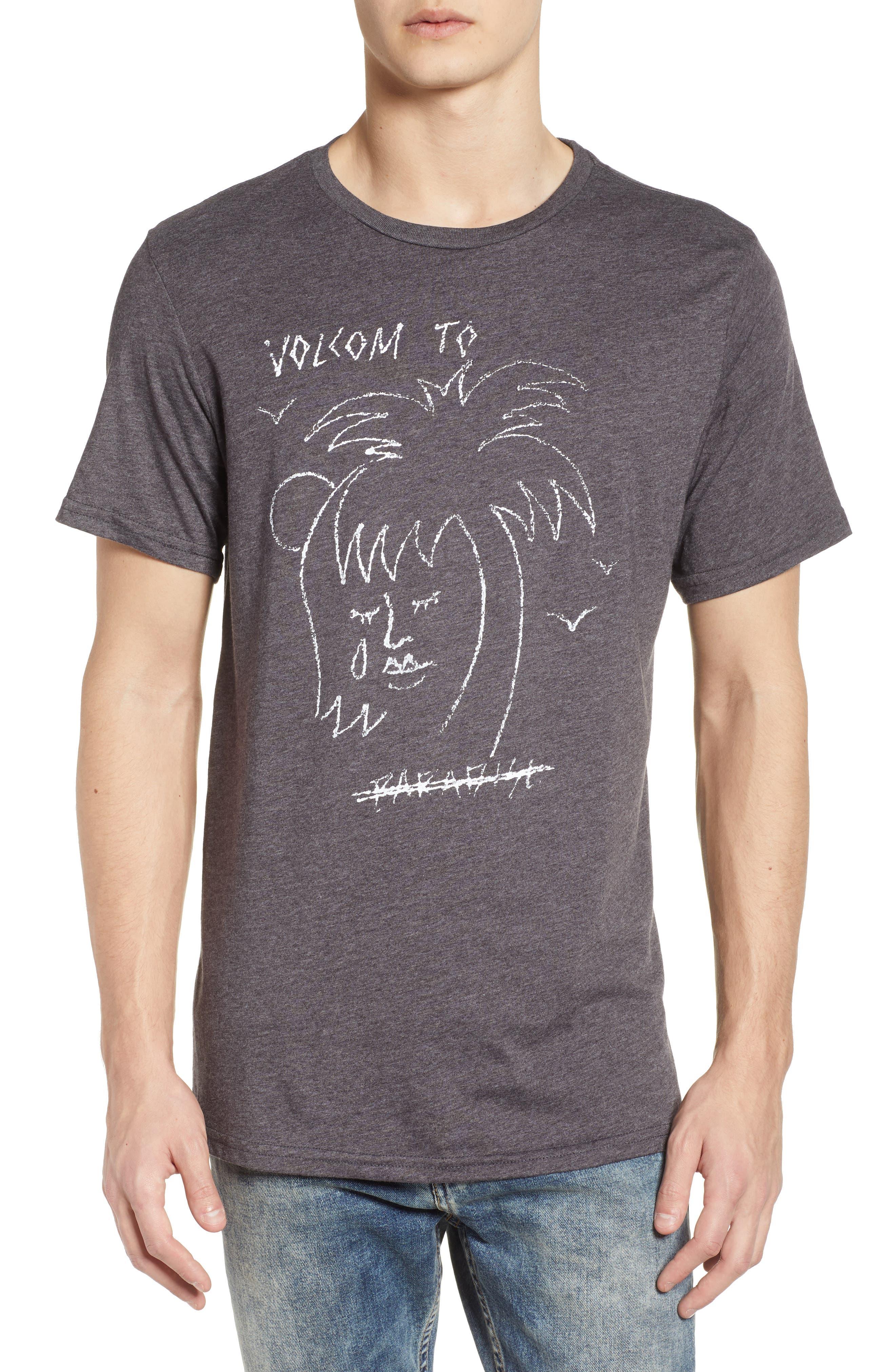 Tropical Depression T-Shirt,                         Main,                         color, Black Heather