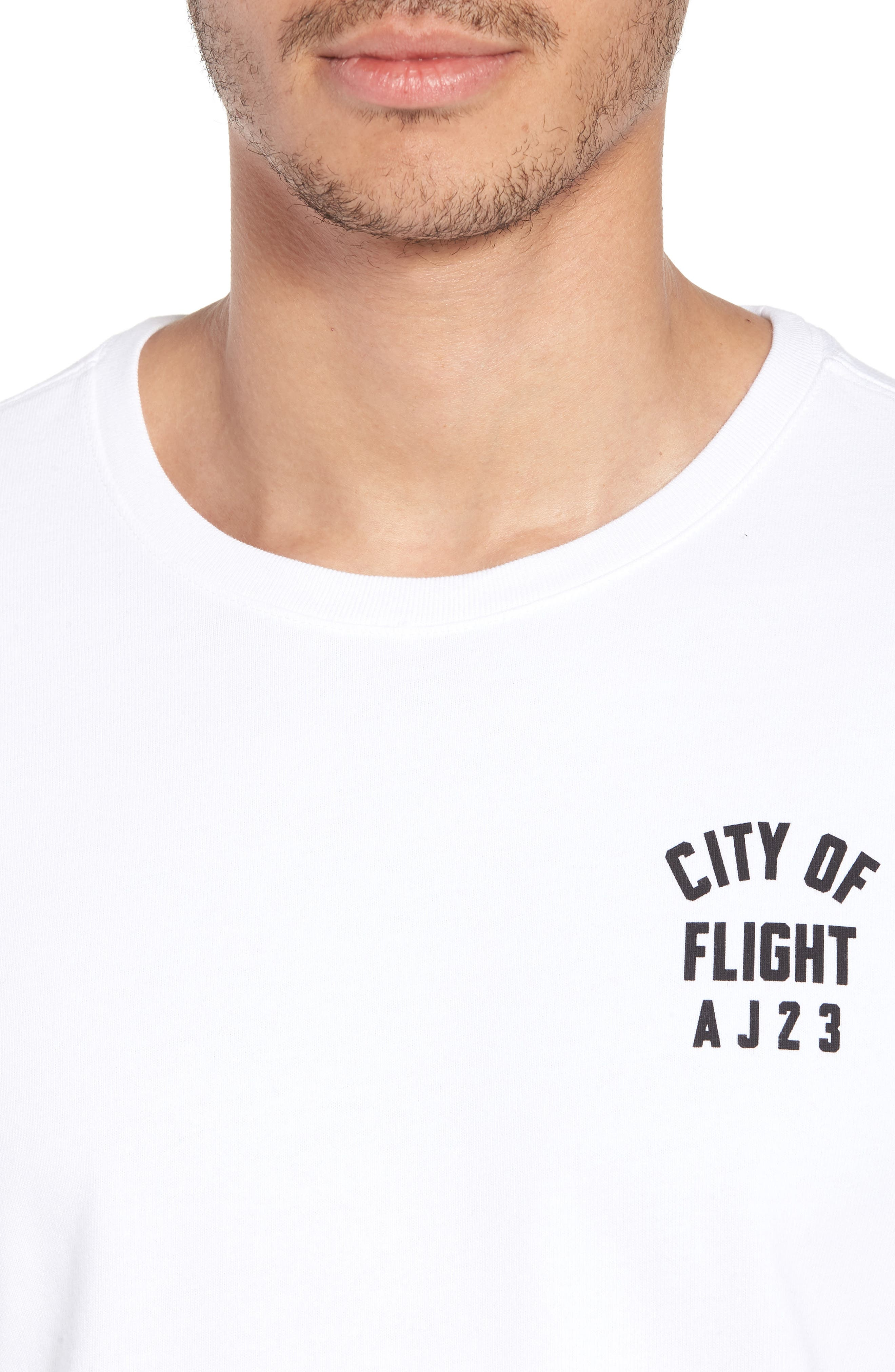 City Of Flight T-Shirt,                             Alternate thumbnail 4, color,                             White