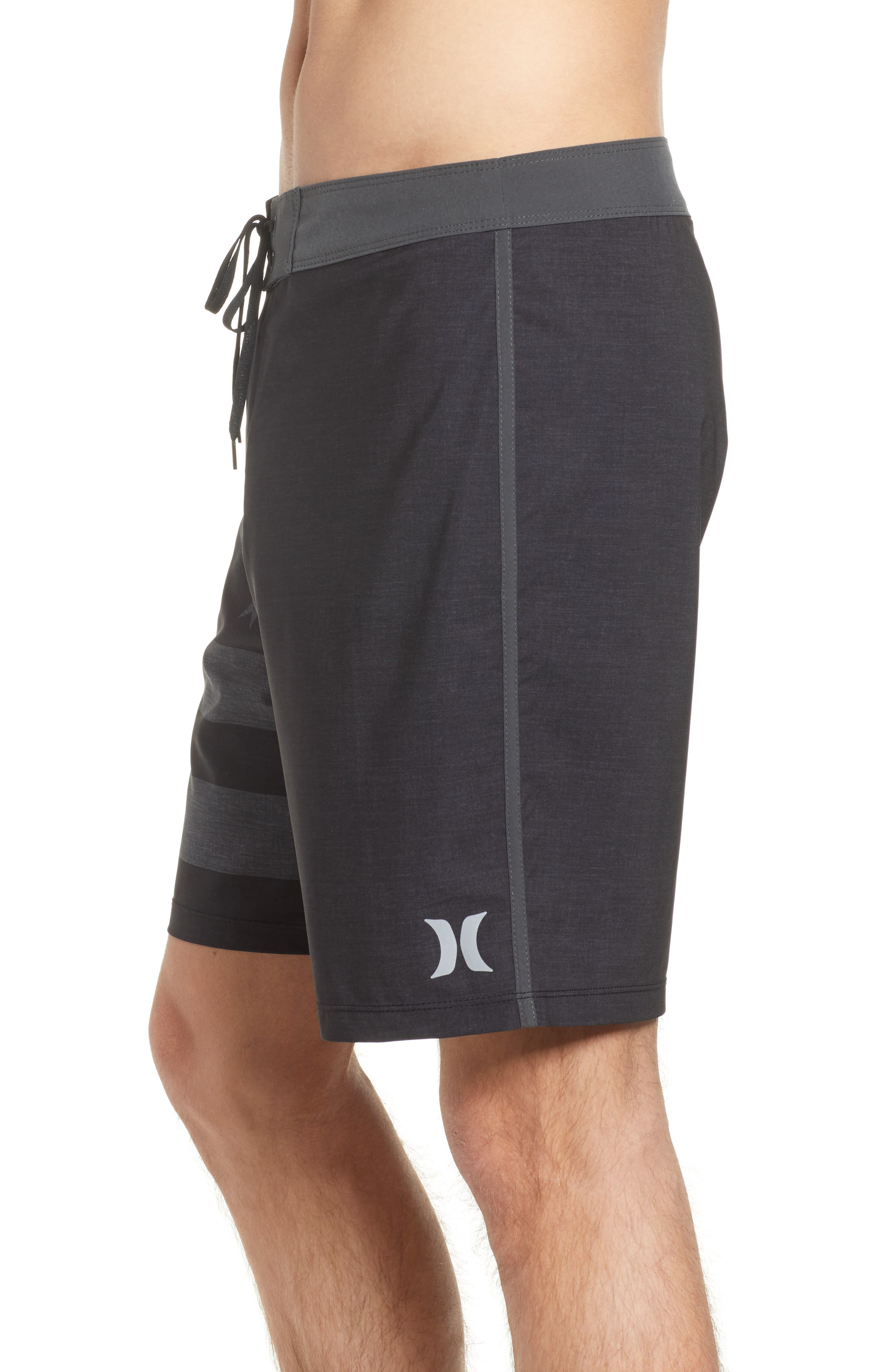 Phantom Cheers Board Shorts,                             Alternate thumbnail 4, color,                             Black