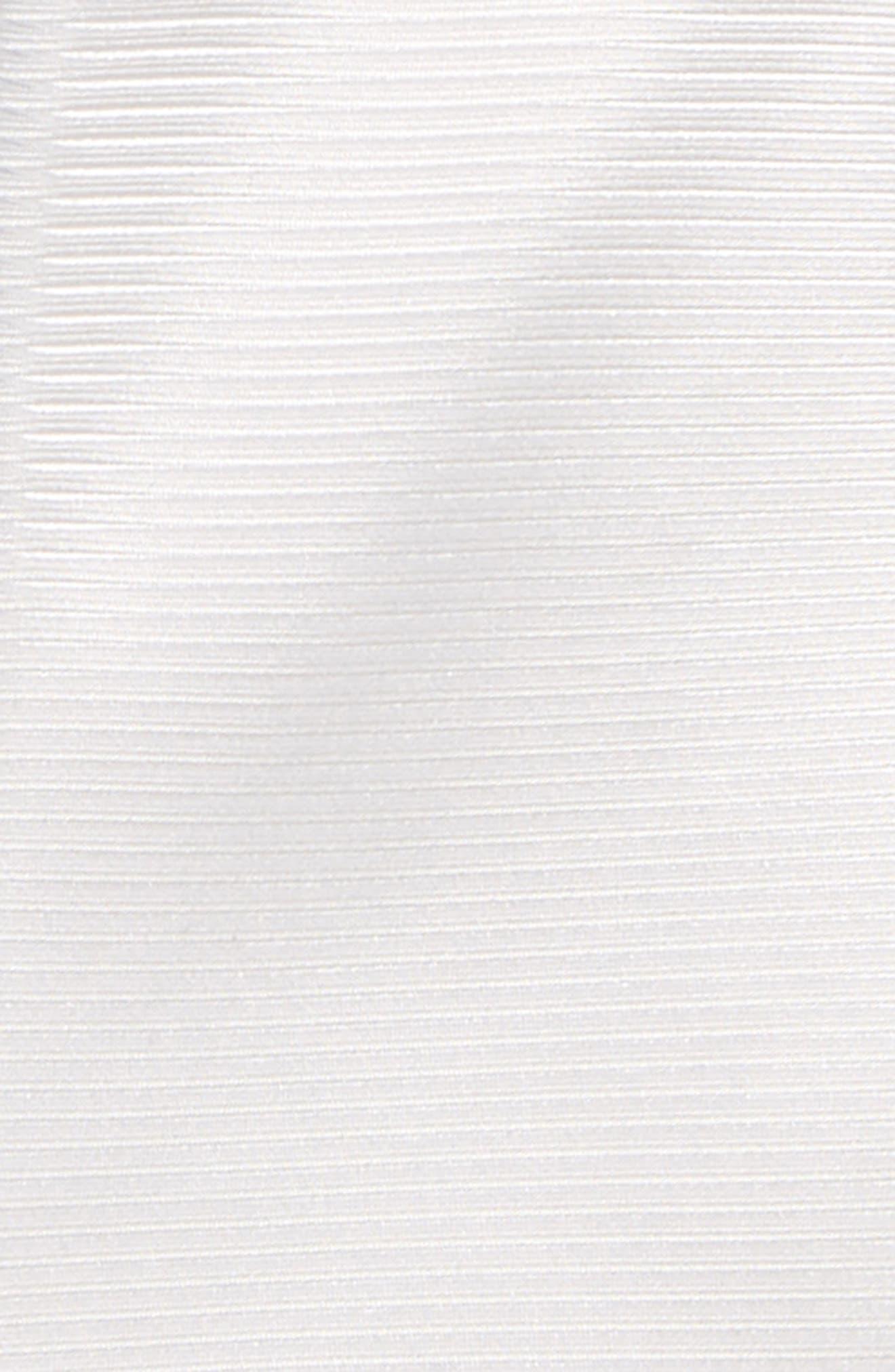 Natte Solid Silk Tie,                             Alternate thumbnail 2, color,                             White