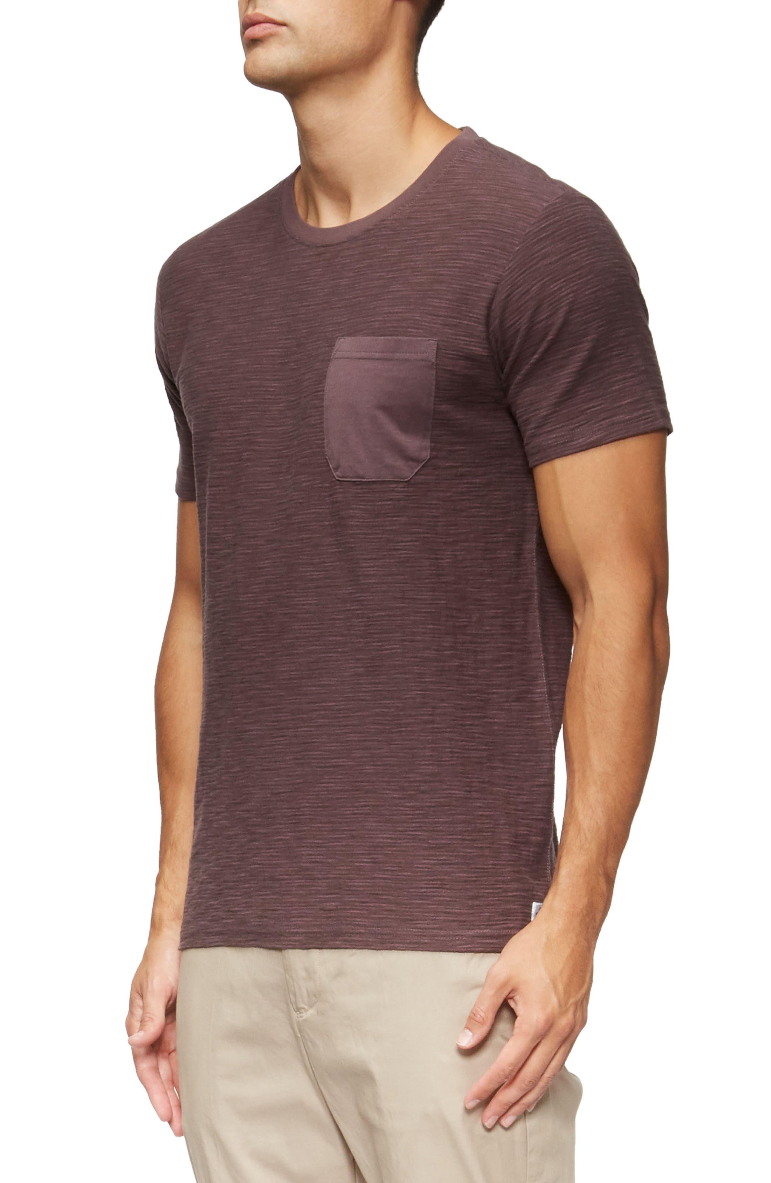 Alternate Image 3  - TAVIK Redondo Stripe Pocket T-Shirt