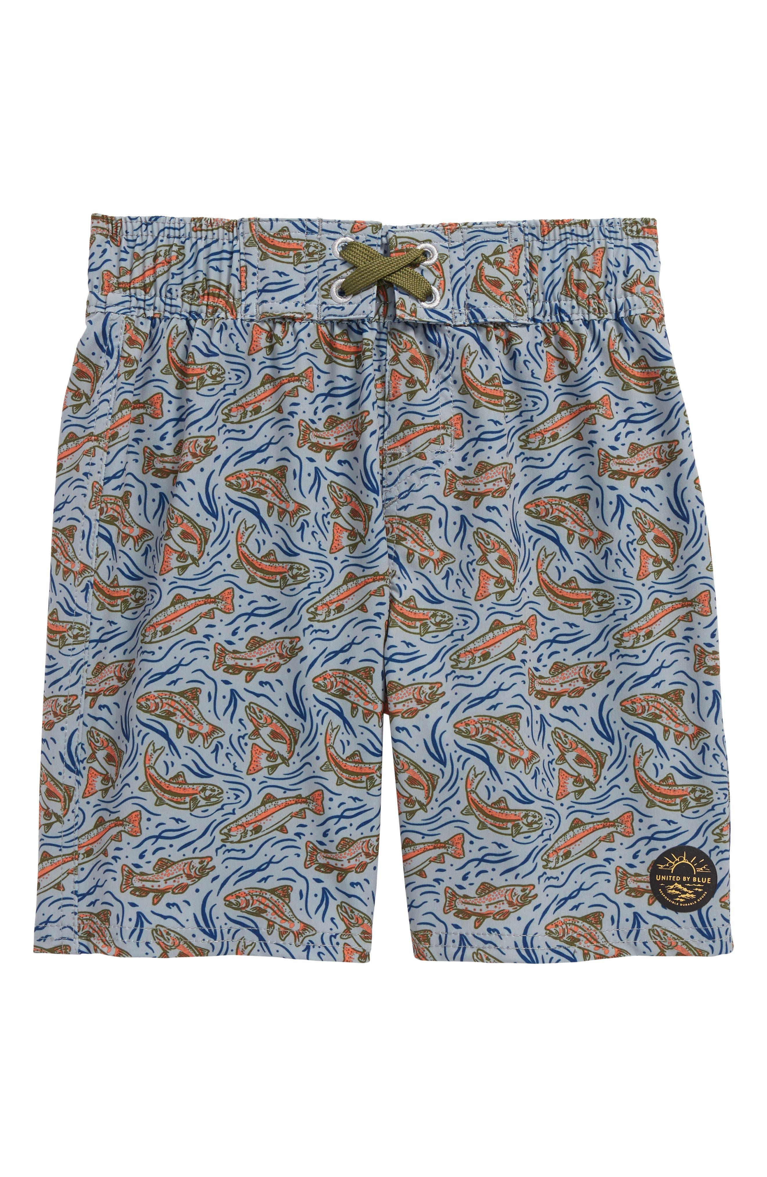 United By Blue Upstream Board Shorts (Little Boys & Big Boys)