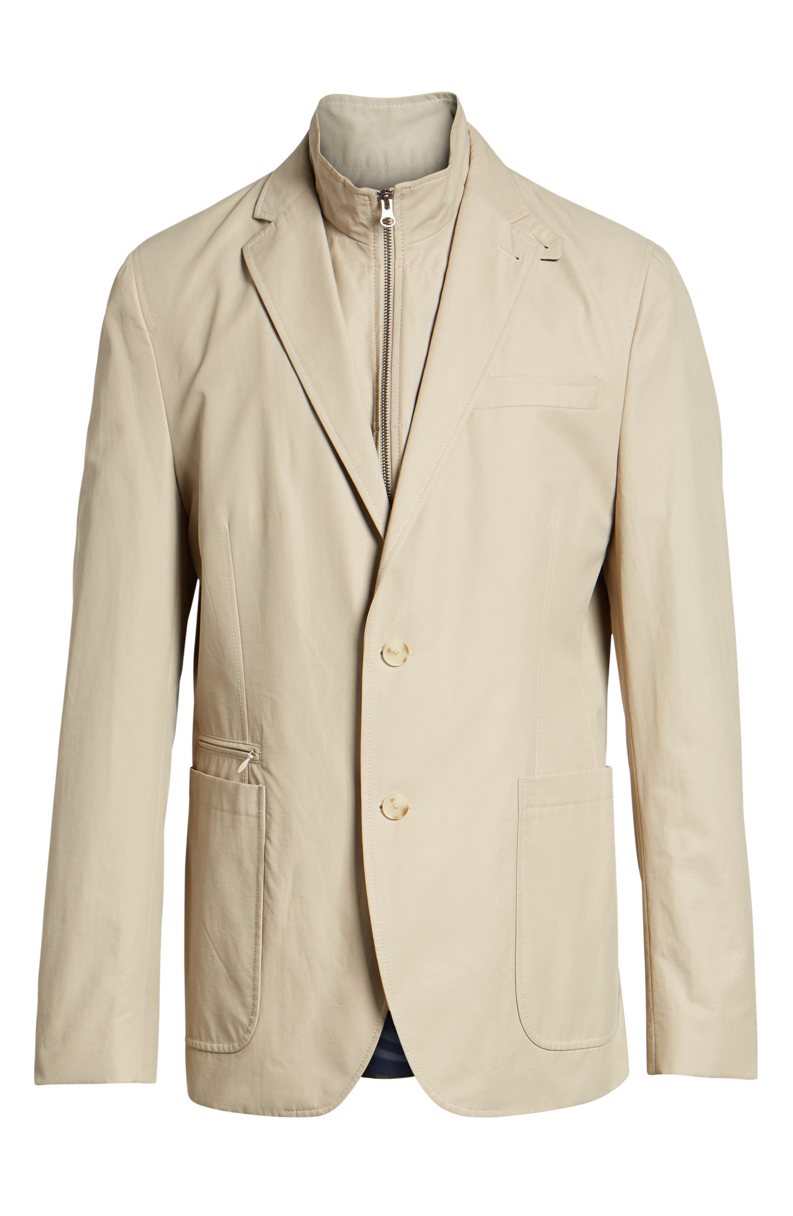 Jones AIM Classic Fit Hybrid Blazer,                             Alternate thumbnail 5, color,                             Tan