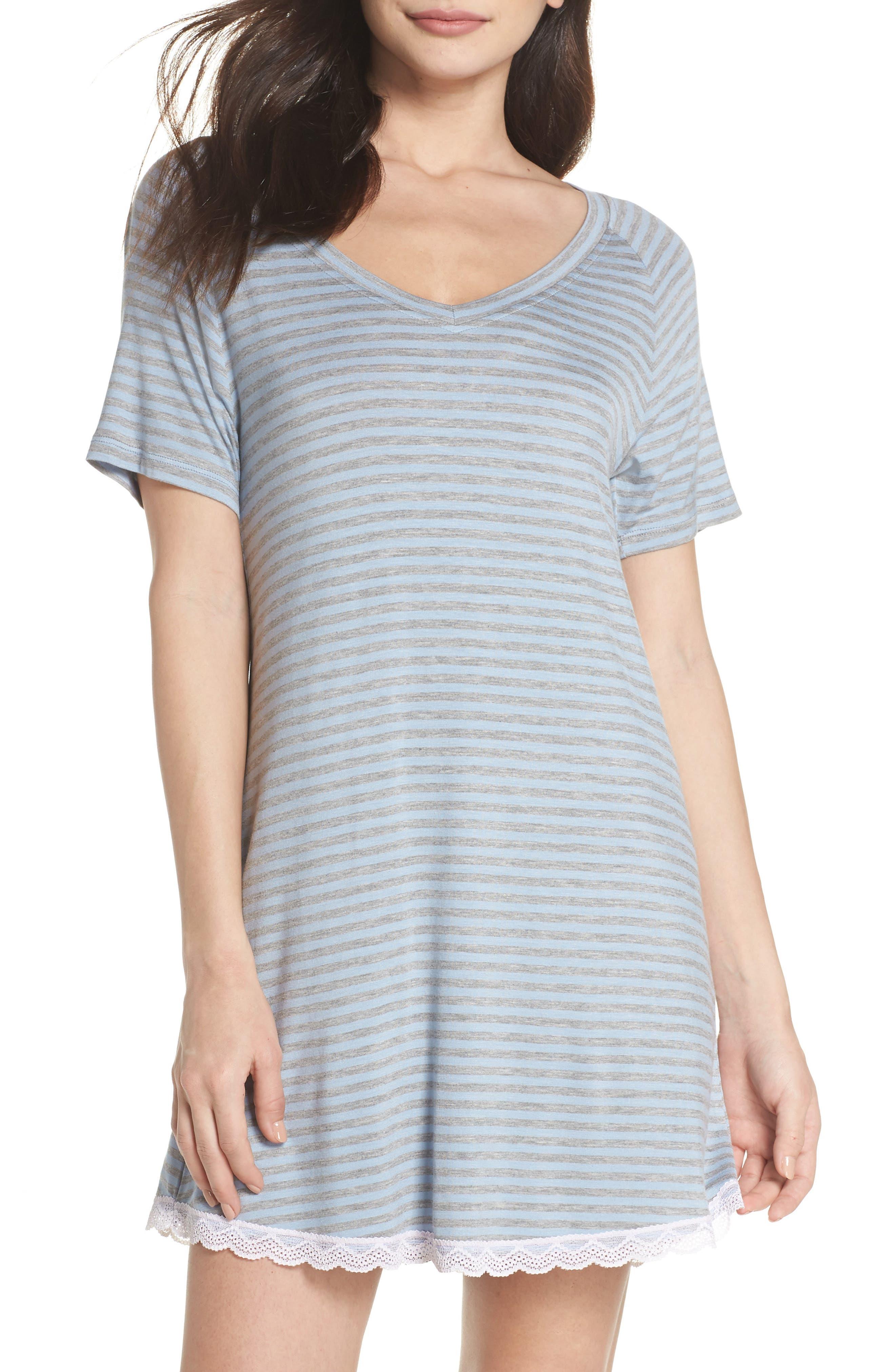 Honeydew Lace Trim Sleep Shirt (2 for $60)