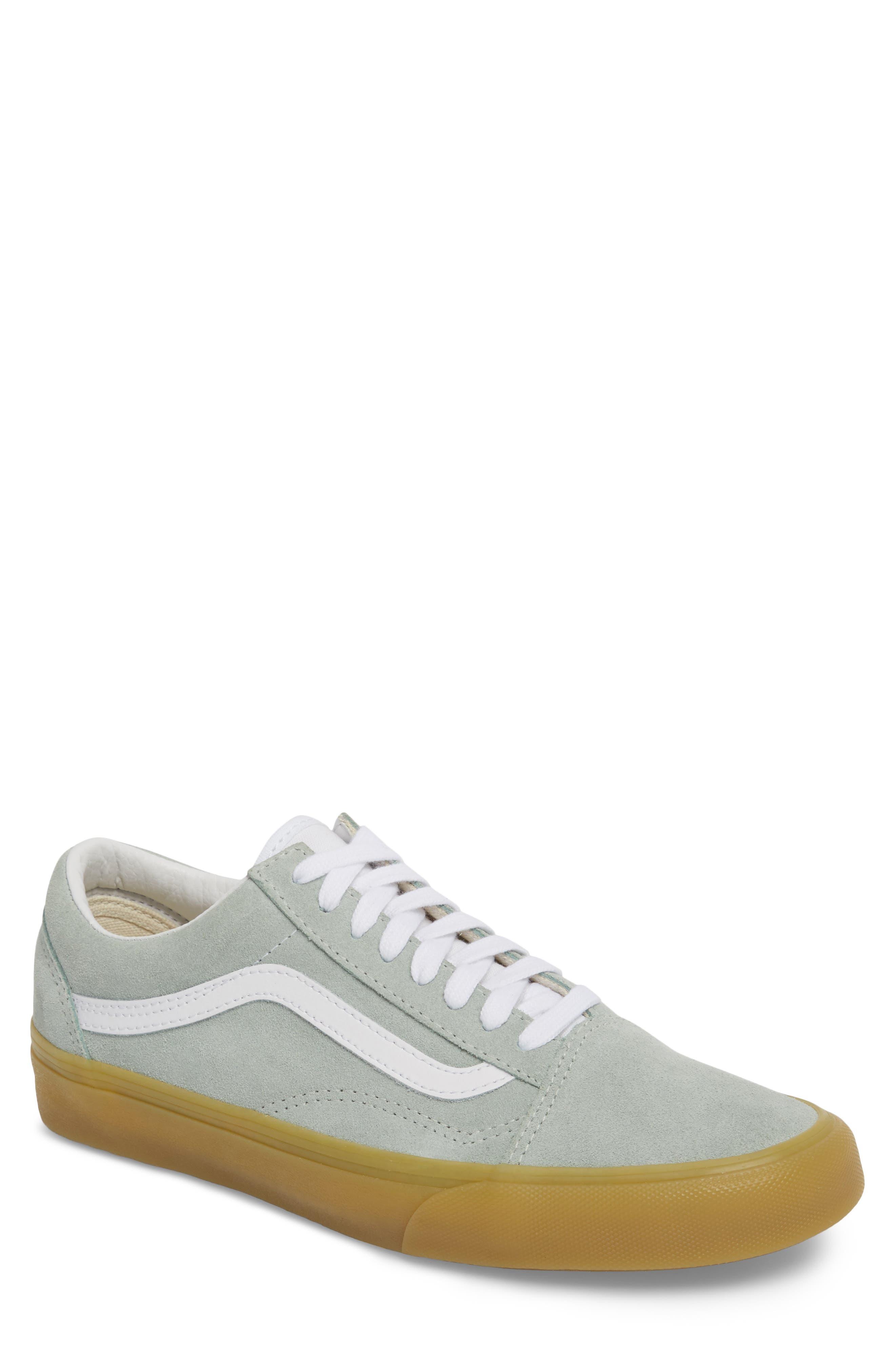 Gum Old Skool Sneaker,                         Main,                         color, Metal Leather