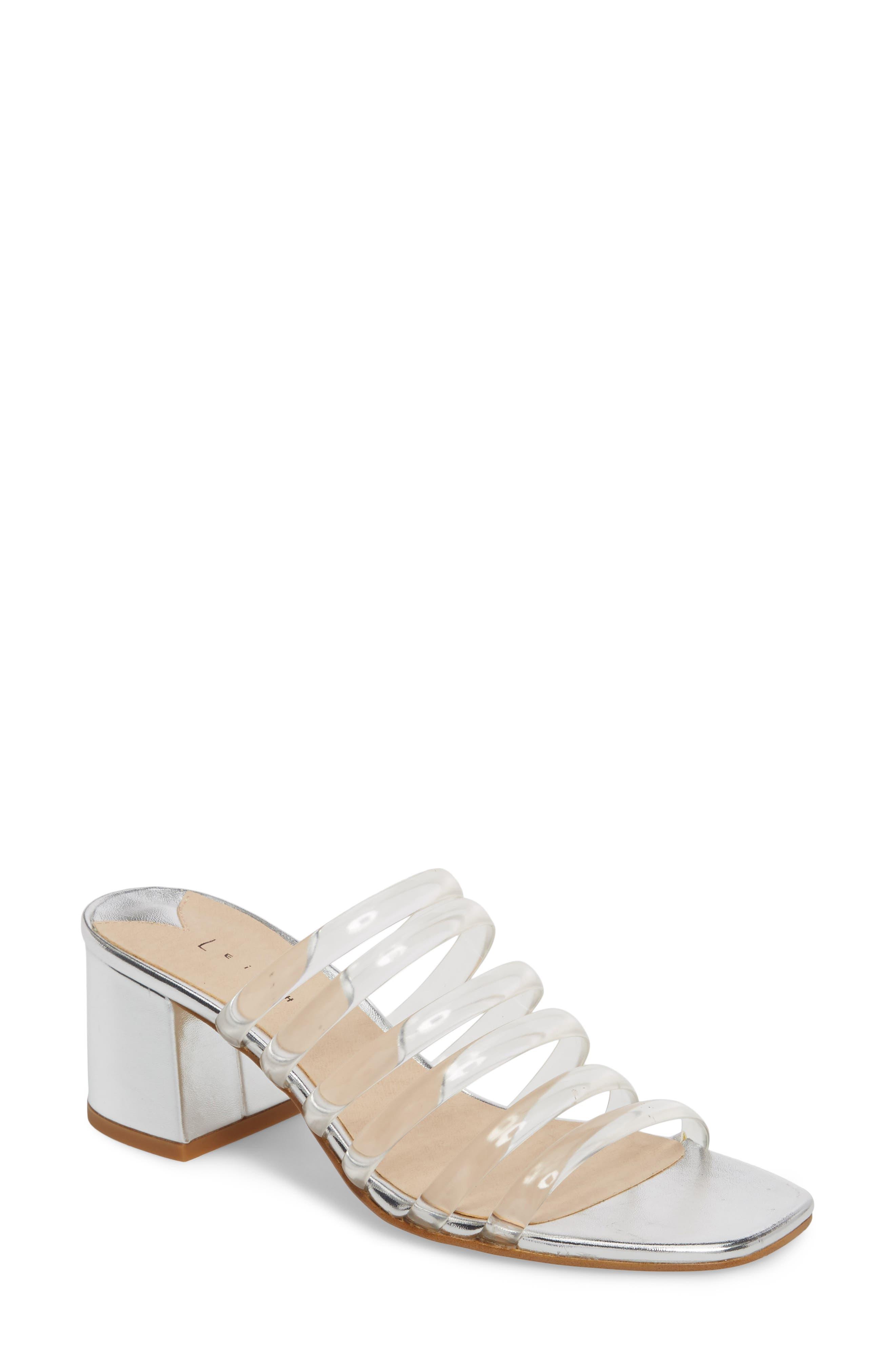 Cloud Jelly Slide Sandal,                         Main,                         color, Clear