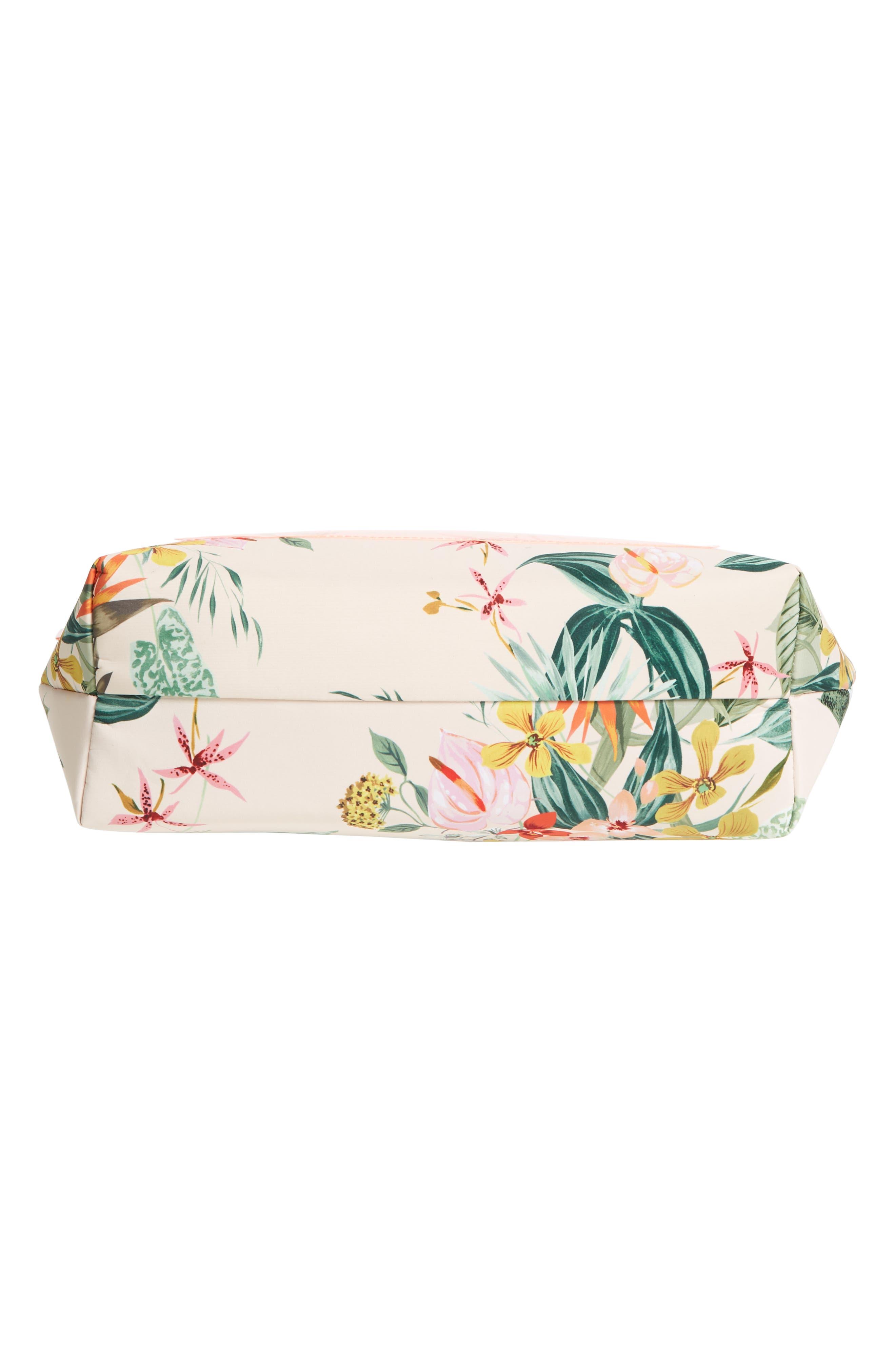 Paradiso Cooler Bag,                             Alternate thumbnail 5, color,                             Cream