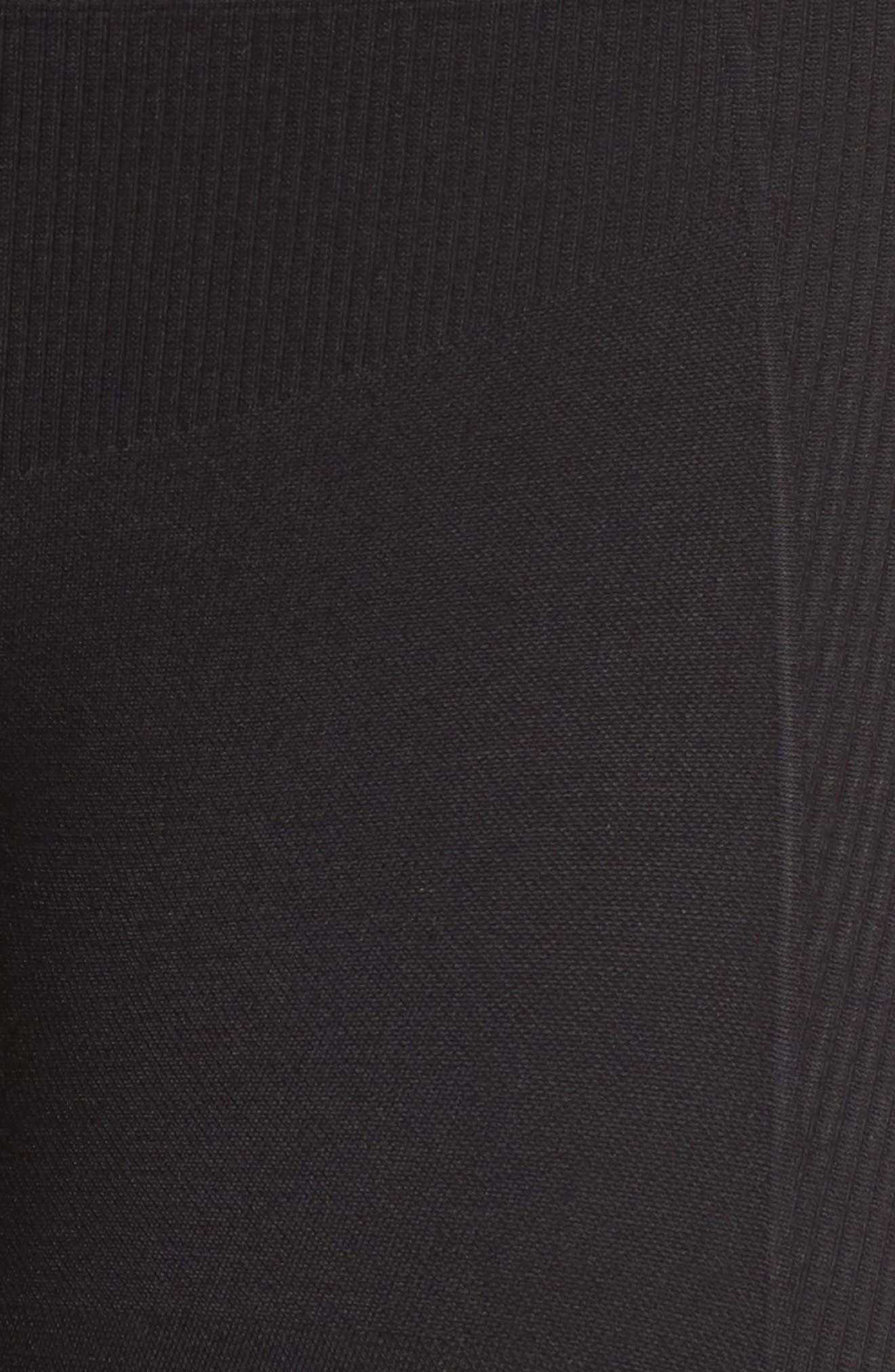 Seamless Leggings,                             Alternate thumbnail 6, color,                             Black
