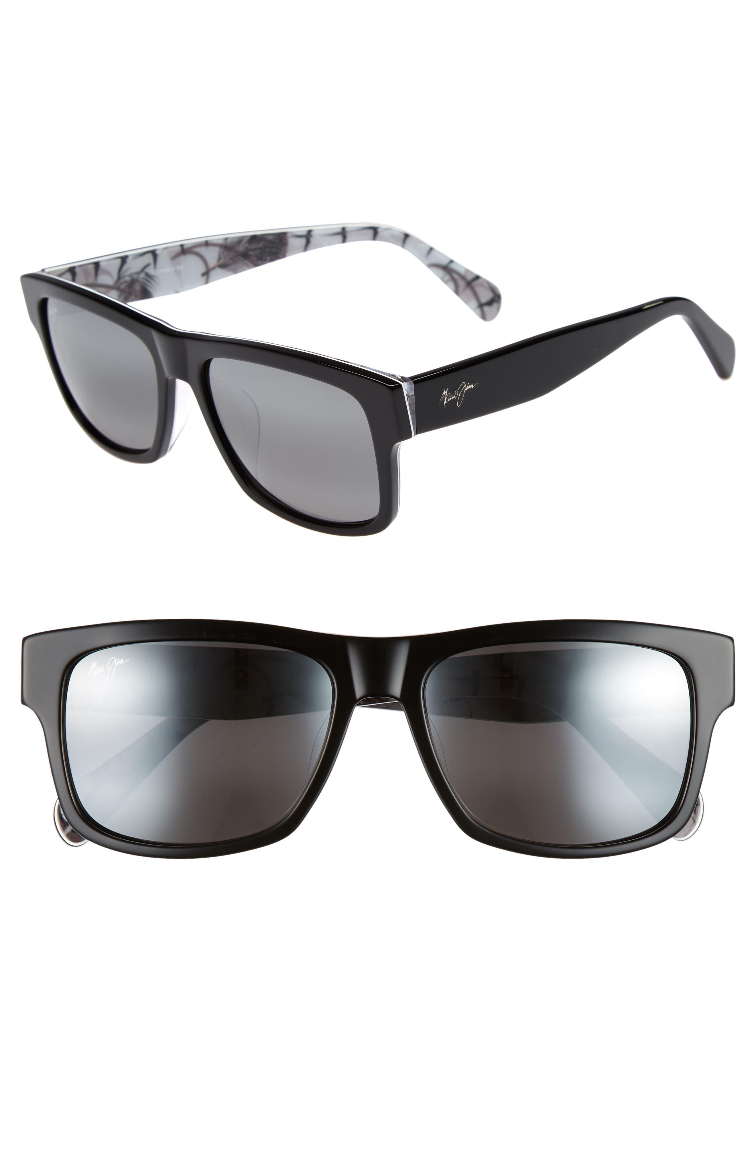 Maui Jim Vibes 55mm Polarized Sunglasses