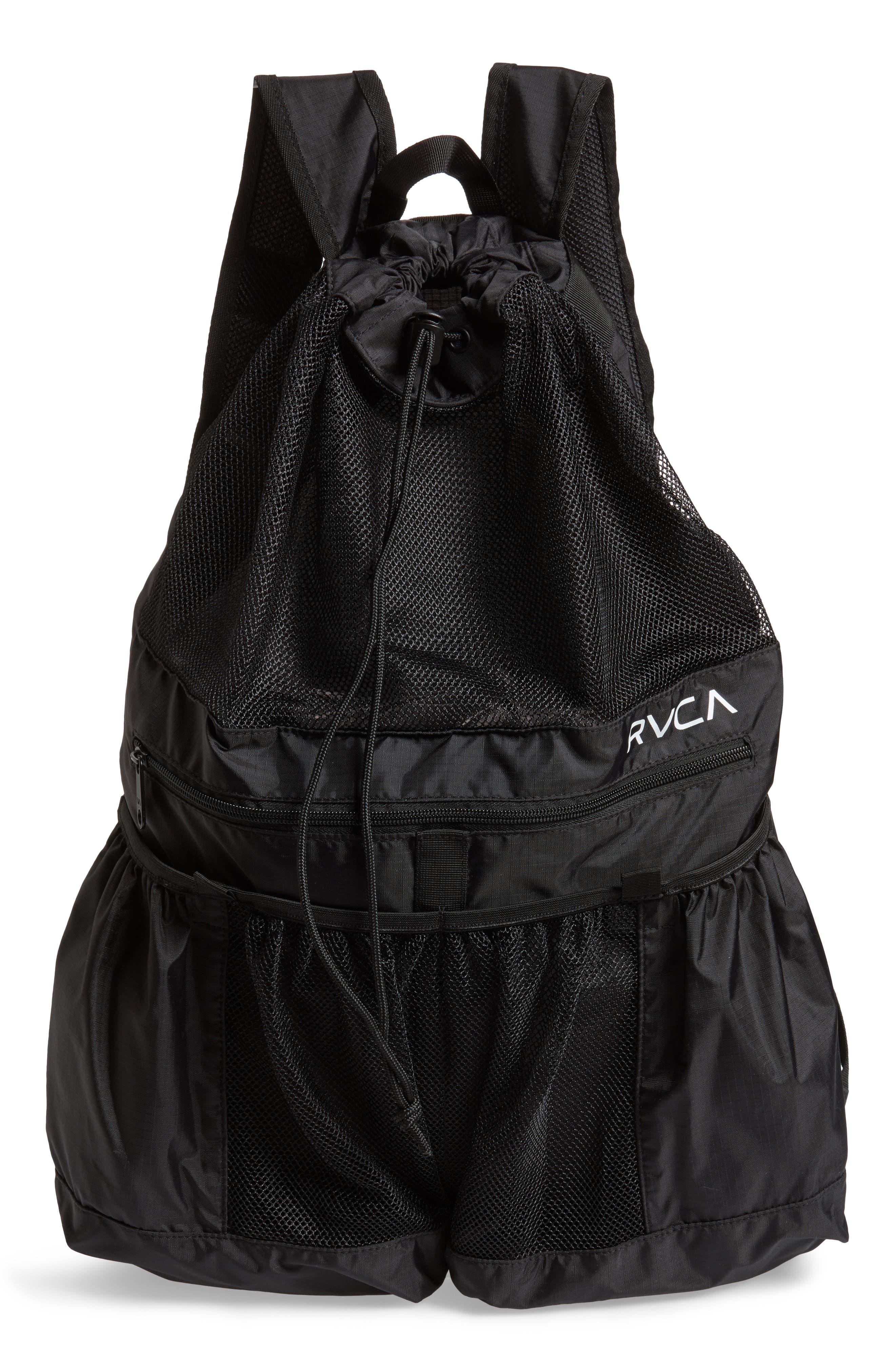 Alternate Image 1 Selected - RVCA Ripstop Mesh Backpack