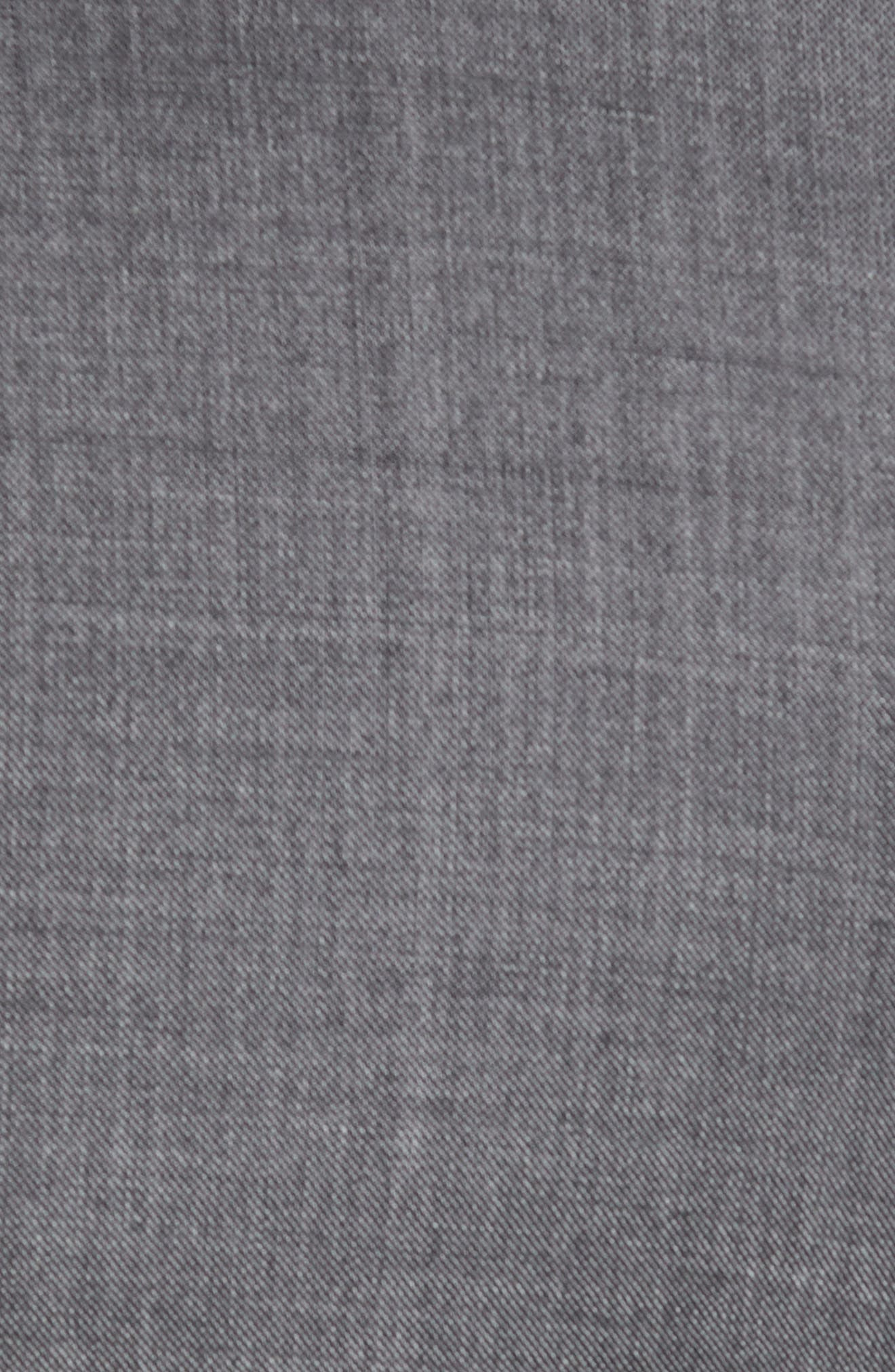 Classic B Fit Solid Wool Suit,                             Alternate thumbnail 7, color,                             Grey Sharkskin