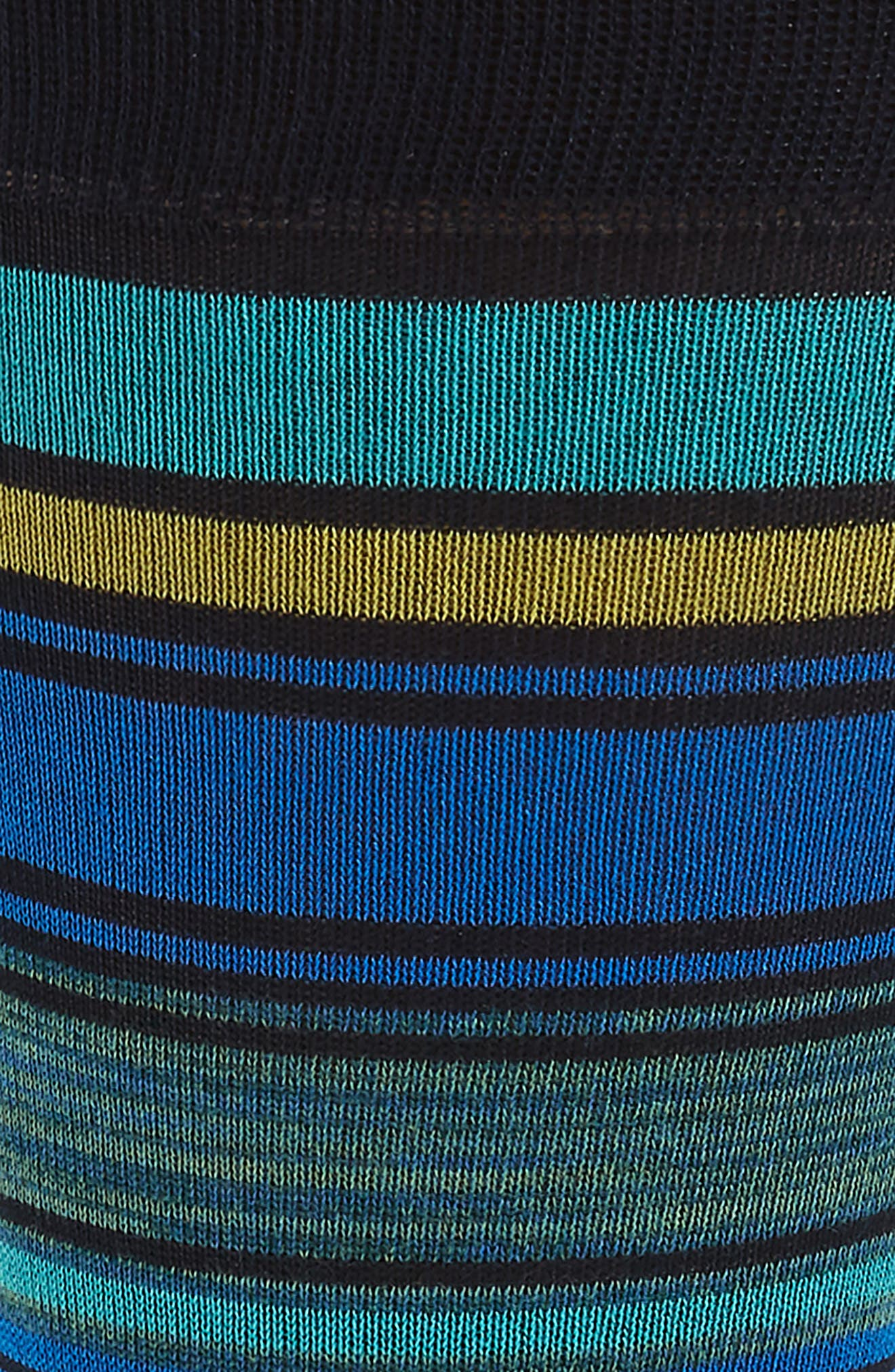 Stripe Socks,                             Alternate thumbnail 2, color,                             Navy