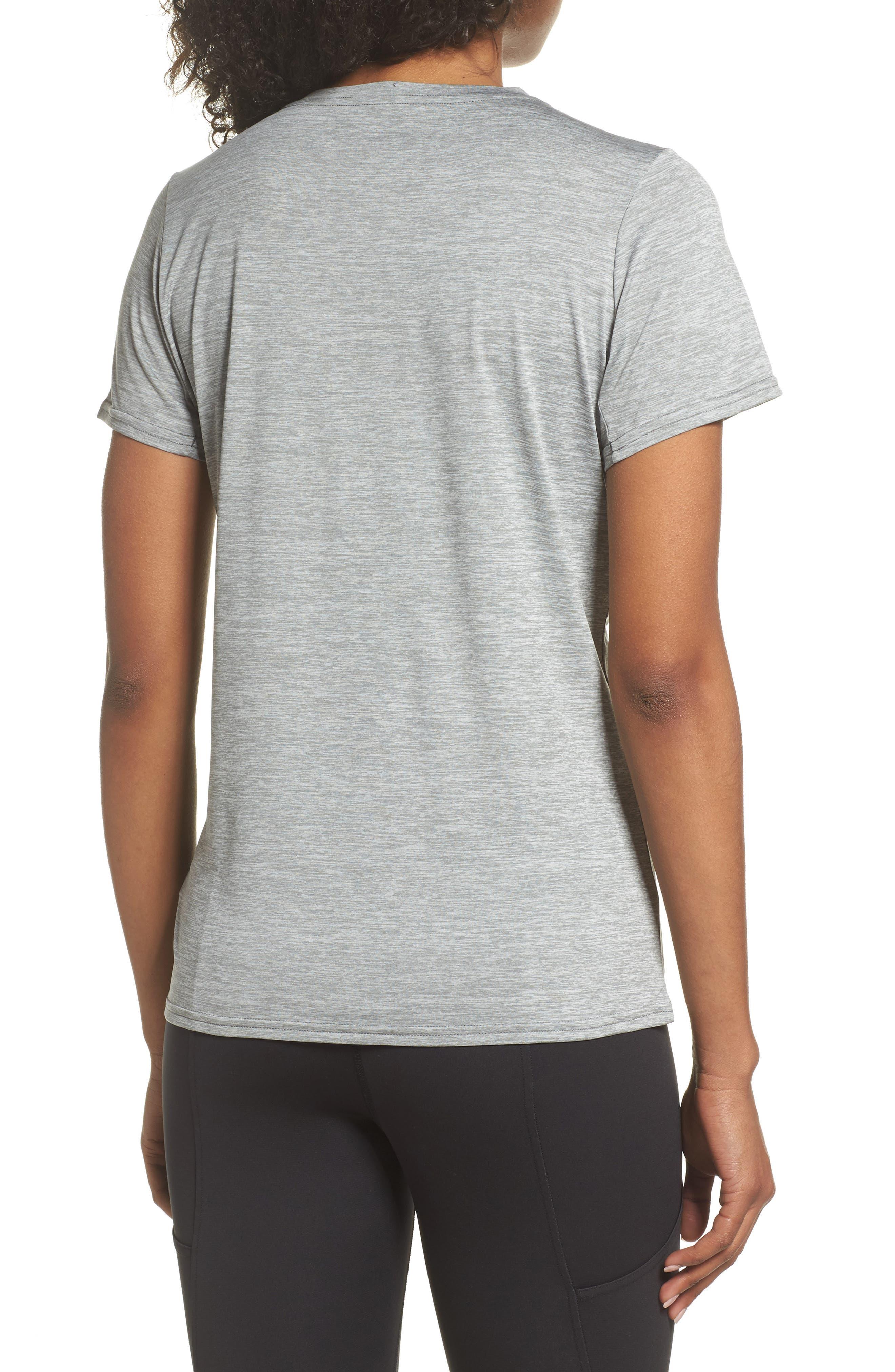 Capilene<sup>®</sup> Dailty T-Shirt,                             Alternate thumbnail 2, color,                             Feather Grey