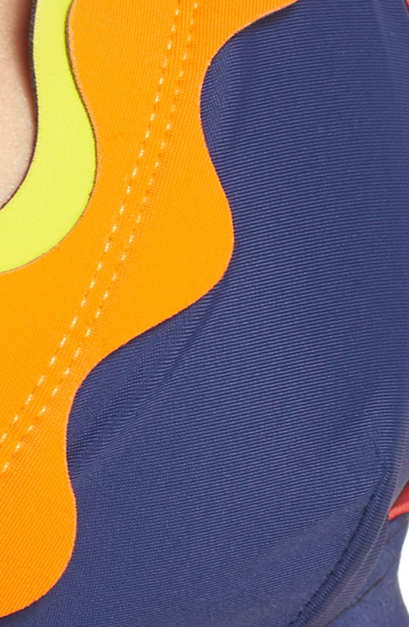 Oh My Bikini Top,                             Alternate thumbnail 8, color,                             Navy