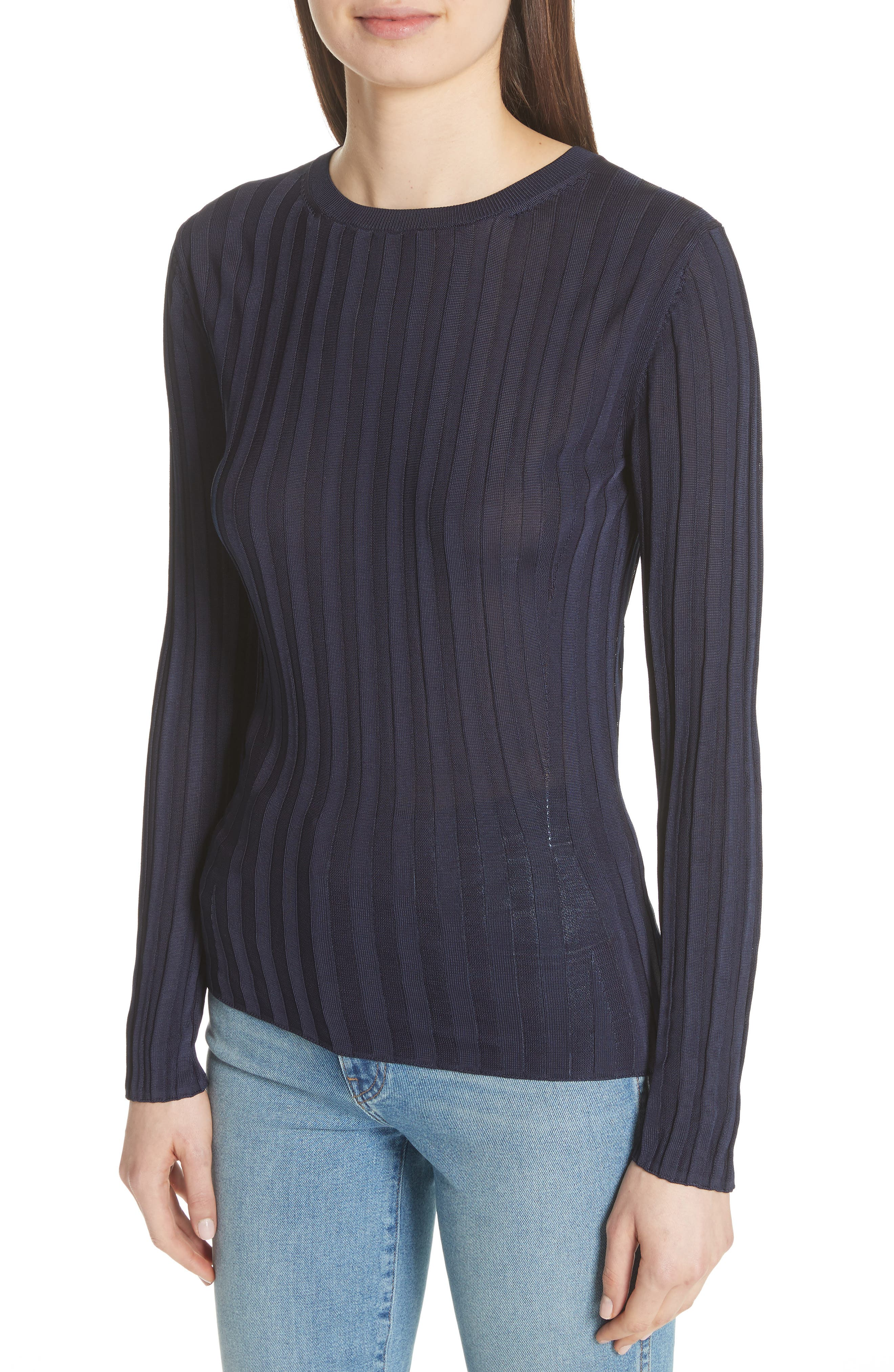 Alternate Image 4  - Acne Studios Sitha Ribbed Top