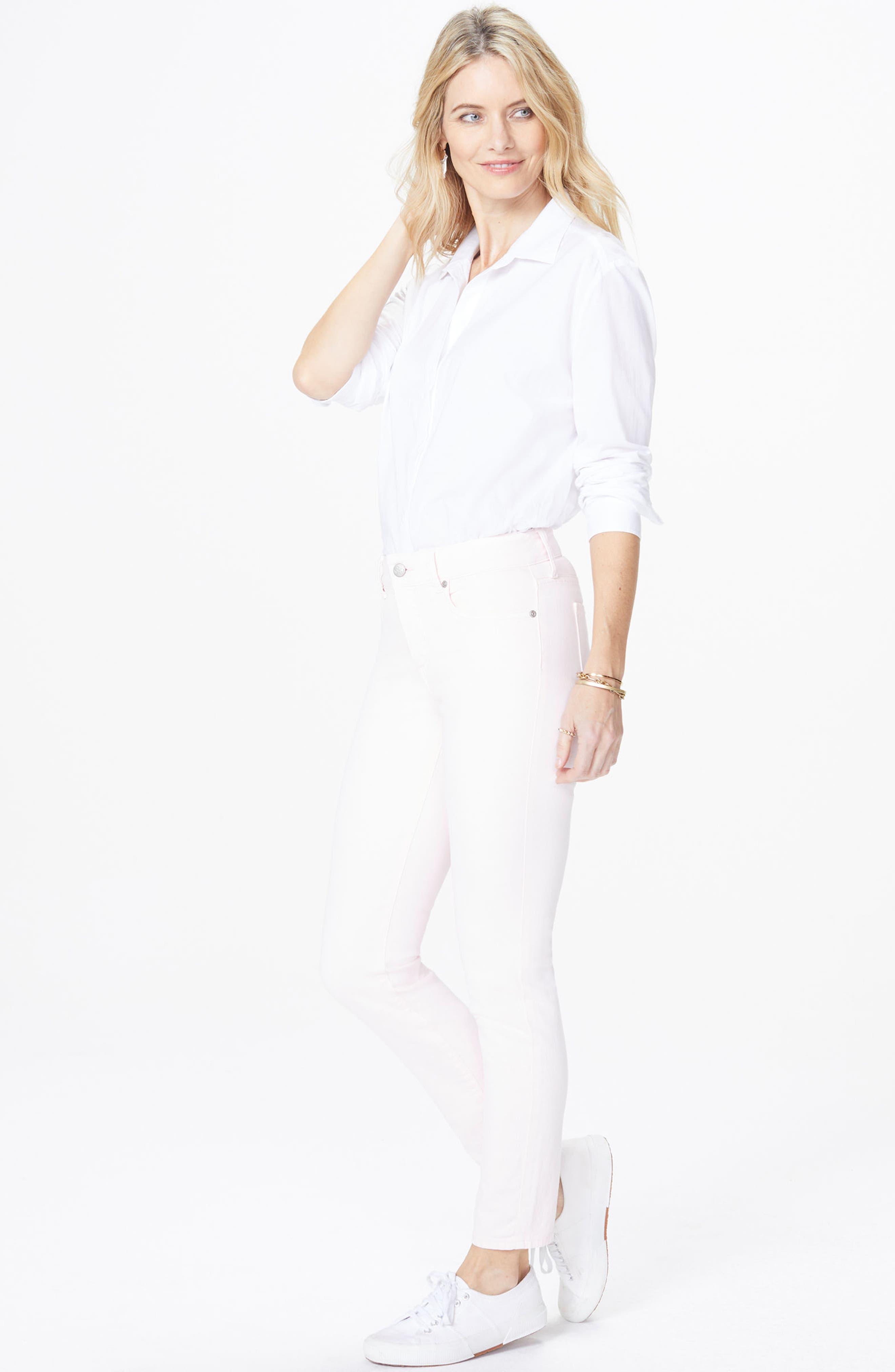 Alternate Image 3  - NYDJ Alina Ankle Jeans (Light Primrose)