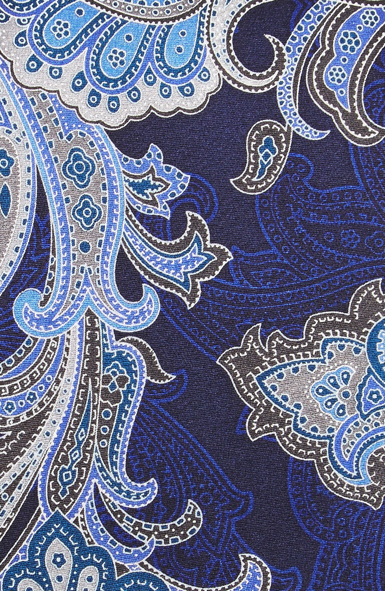Penay Paisley Silk Tie,                             Alternate thumbnail 2, color,                             Grey