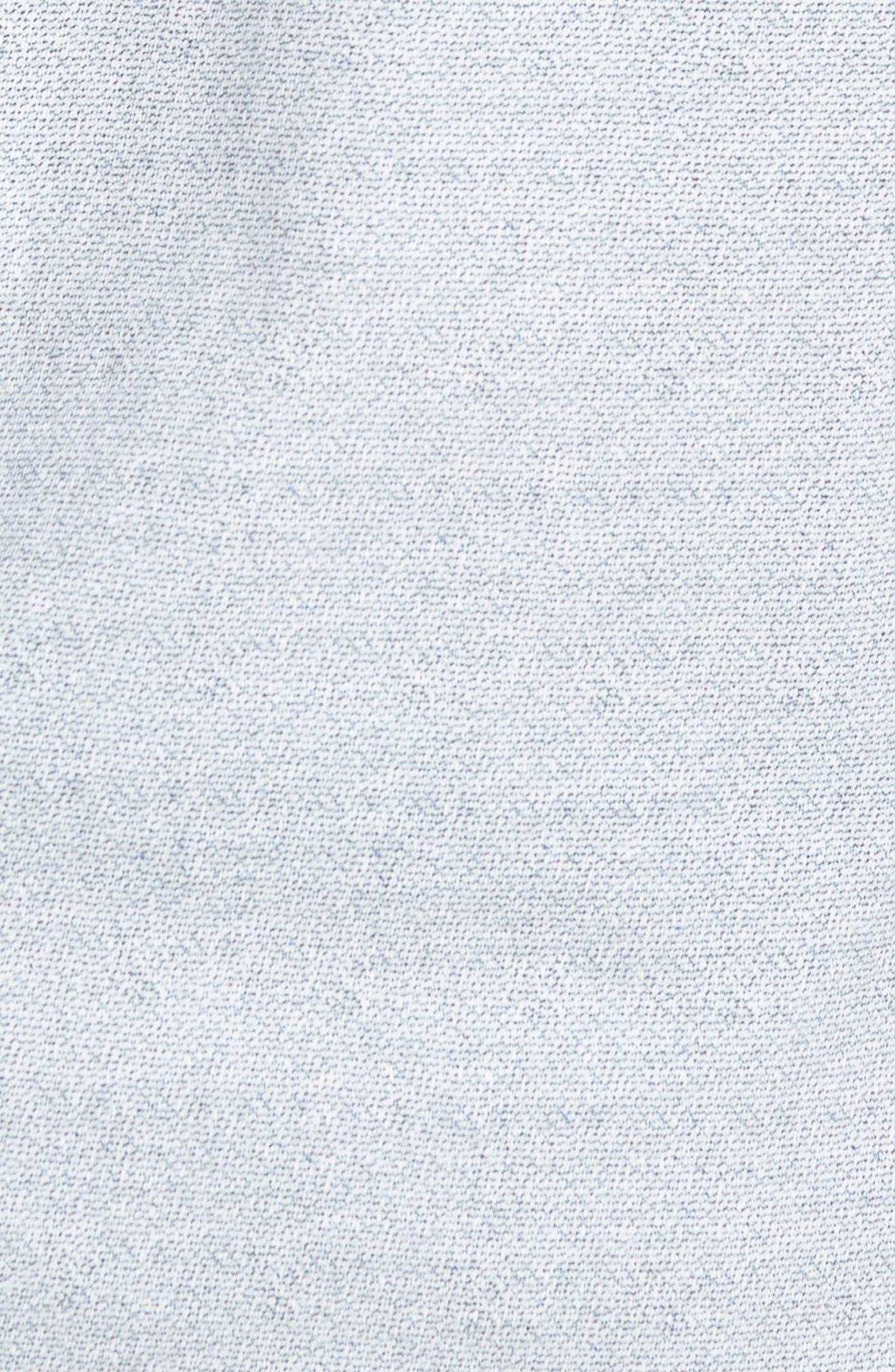 Reworked Slim Fit Speckled Sport Shirt,                             Alternate thumbnail 5, color,                             Blue