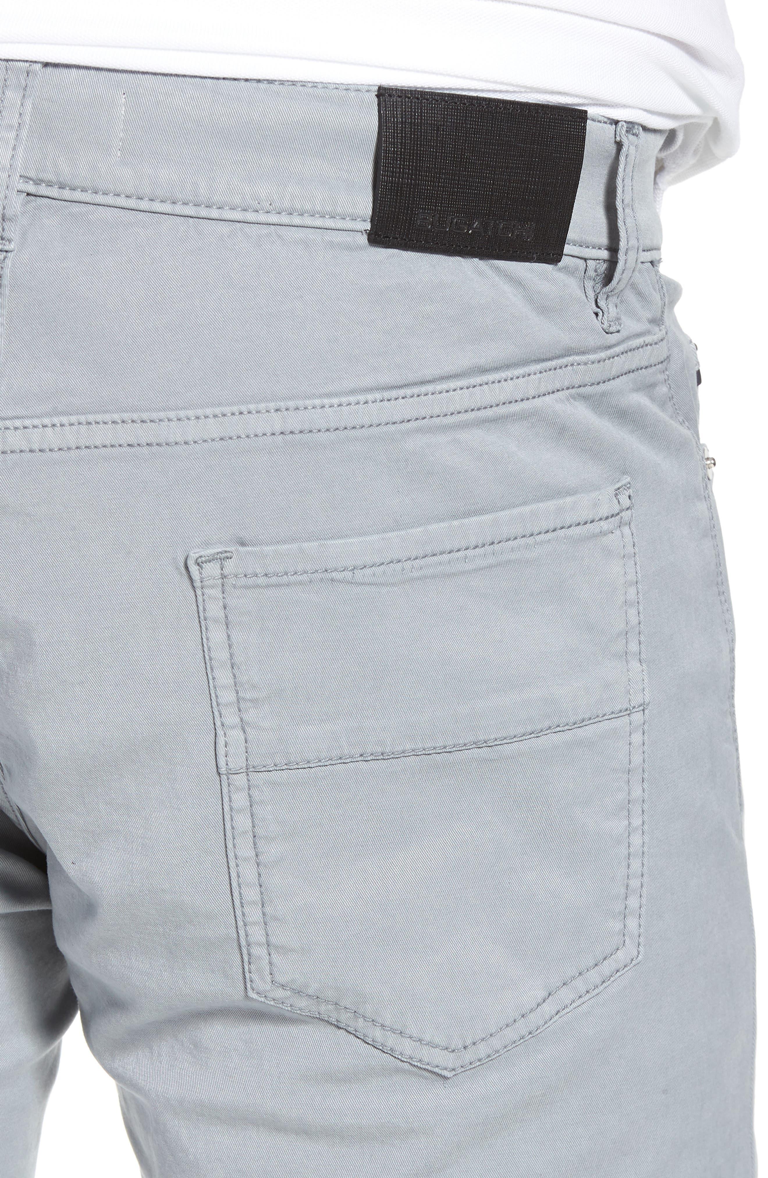 Trim Fit Pants,                             Alternate thumbnail 4, color,                             Stone