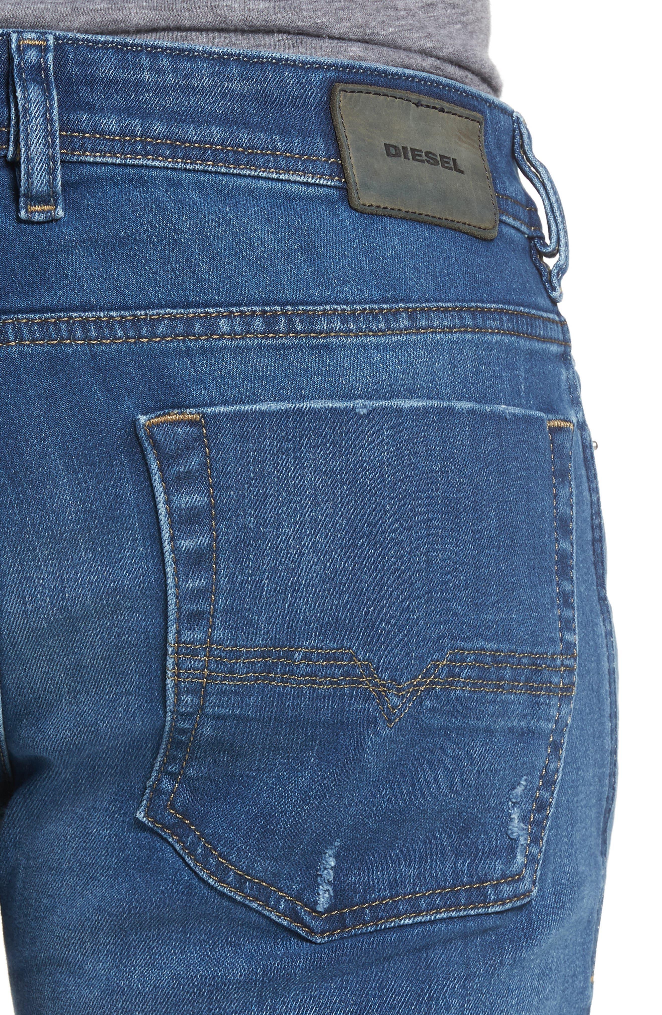 Zatiny Bootcut Jeans,                             Alternate thumbnail 4, color,                             Denim