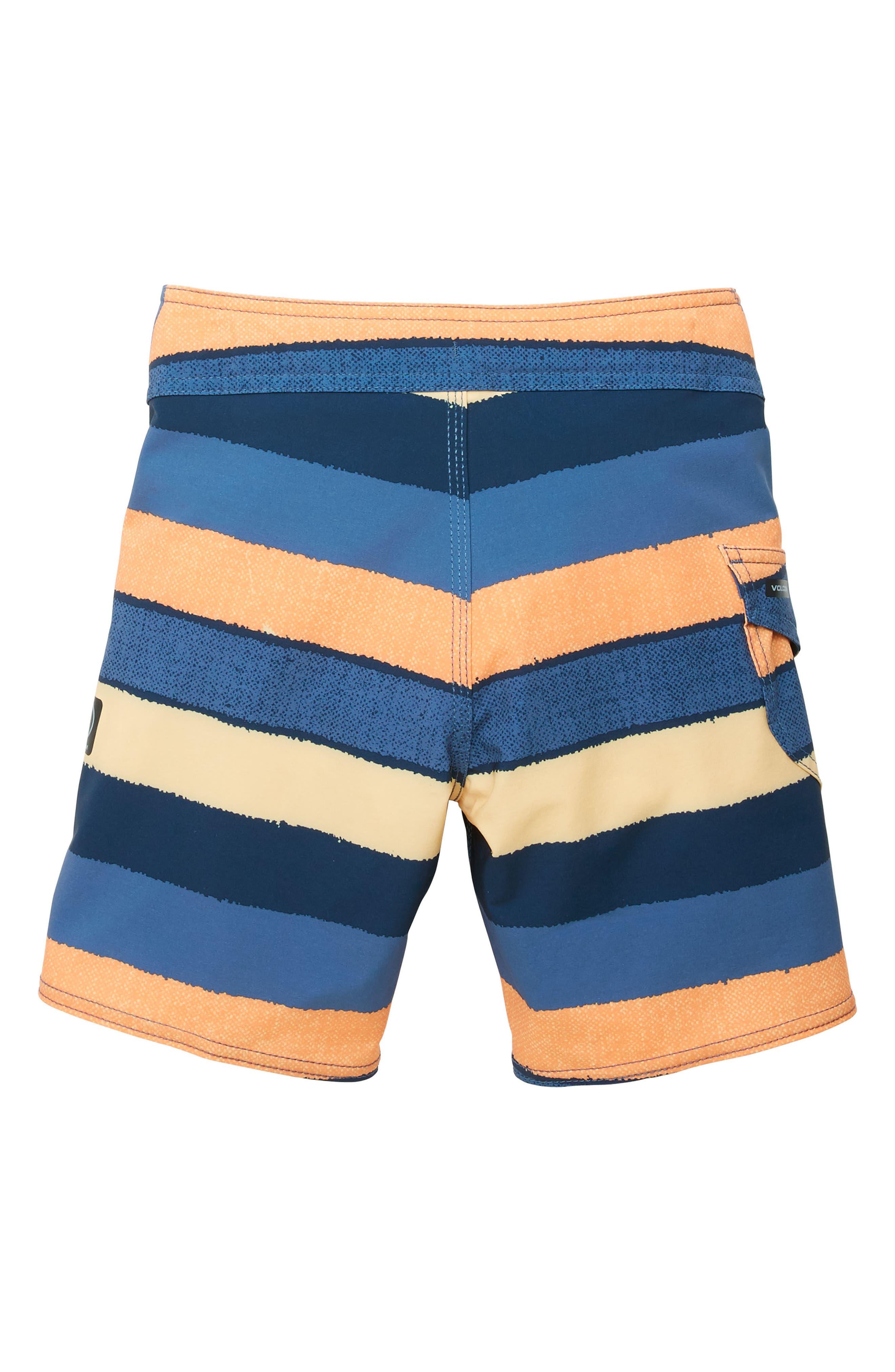 Magnetic Liney Mod Board Shorts,                             Alternate thumbnail 2, color,                             Sunburst