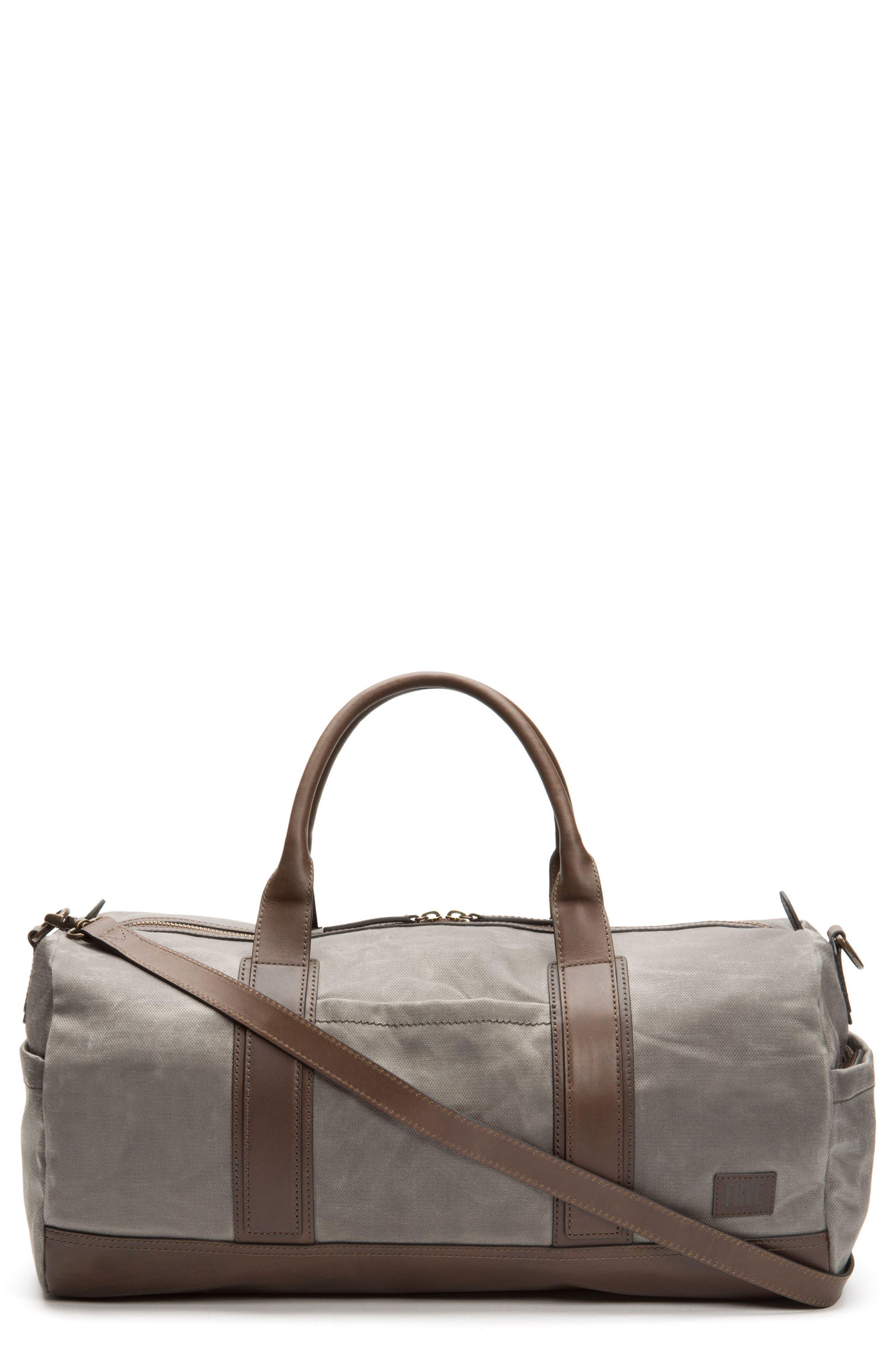 Carter Duffel Bag,                         Main,                         color, Slate