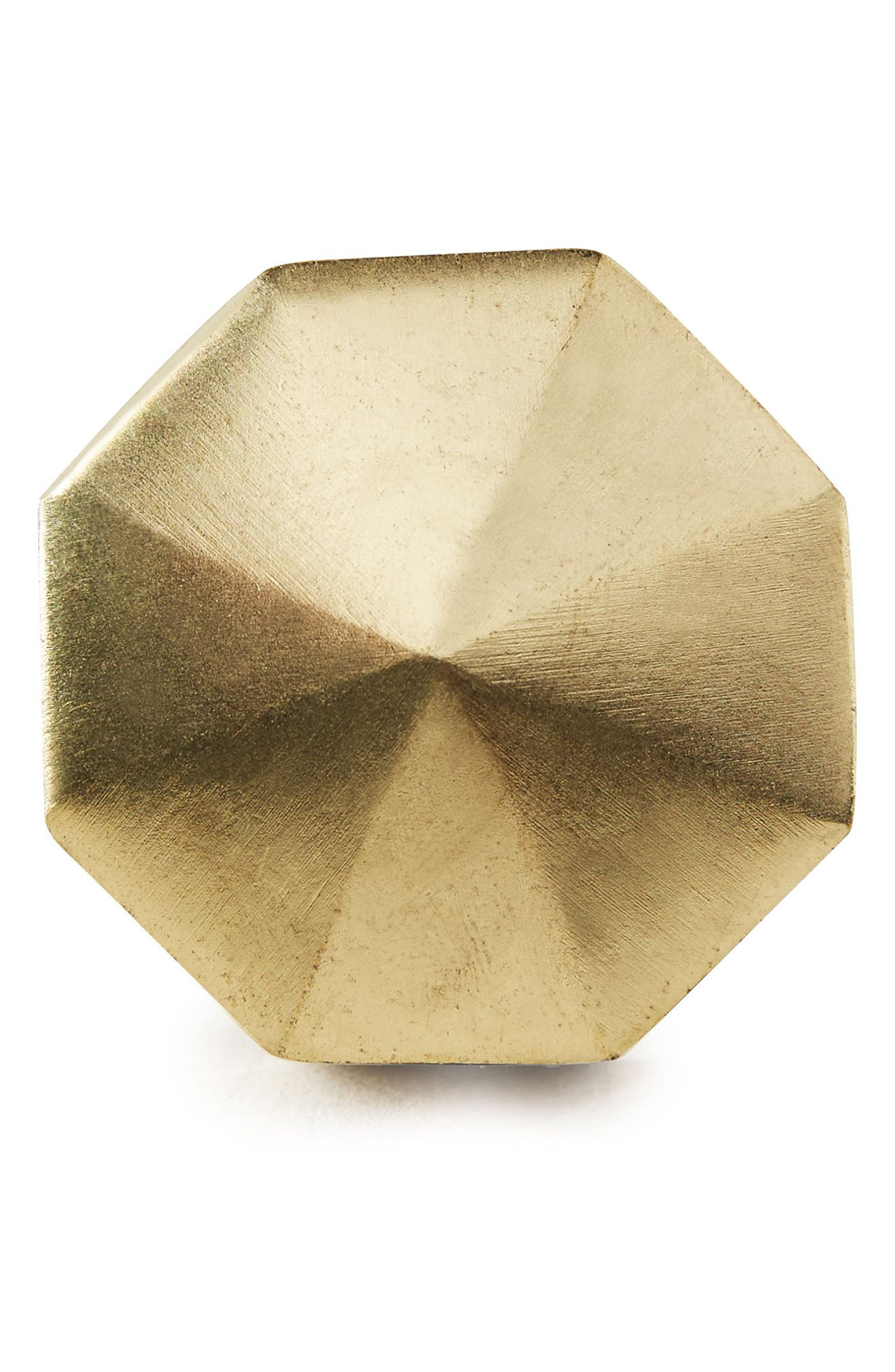 Faceted Ory Knob,                             Alternate thumbnail 2, color,                             Bronze
