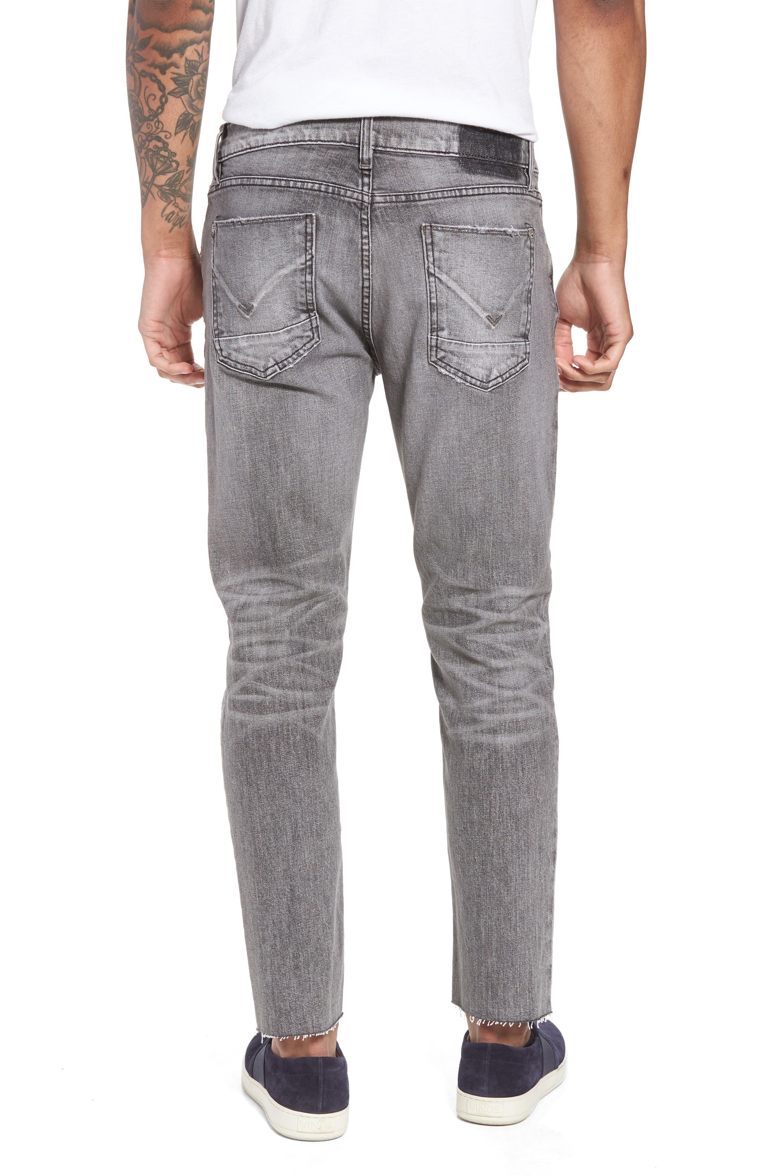 Blake Slim Fit Jeans,                             Alternate thumbnail 2, color,                             Chrome