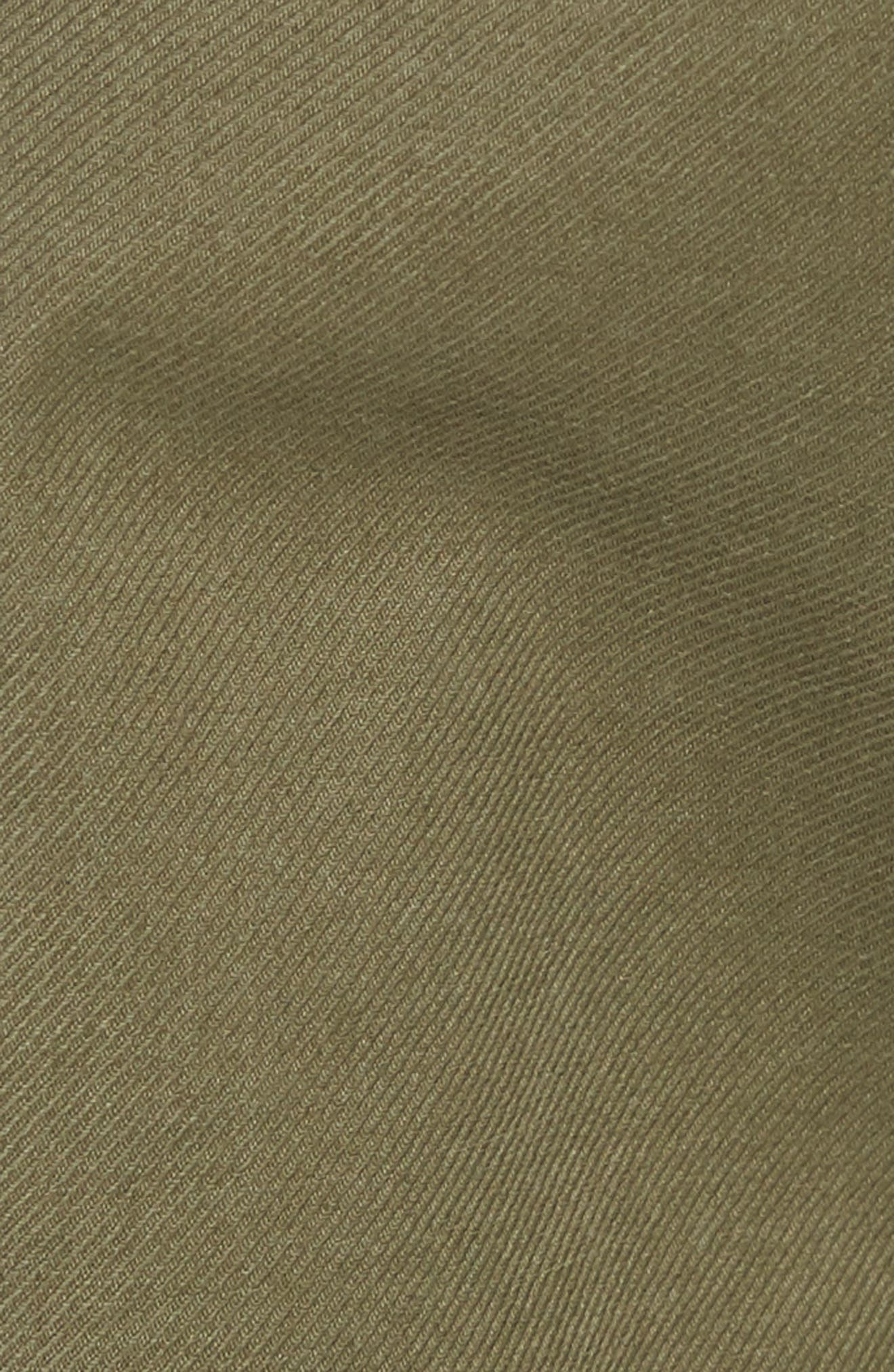 Slim Fit Cargo Shorts,                             Alternate thumbnail 5, color,                             Army Green 2