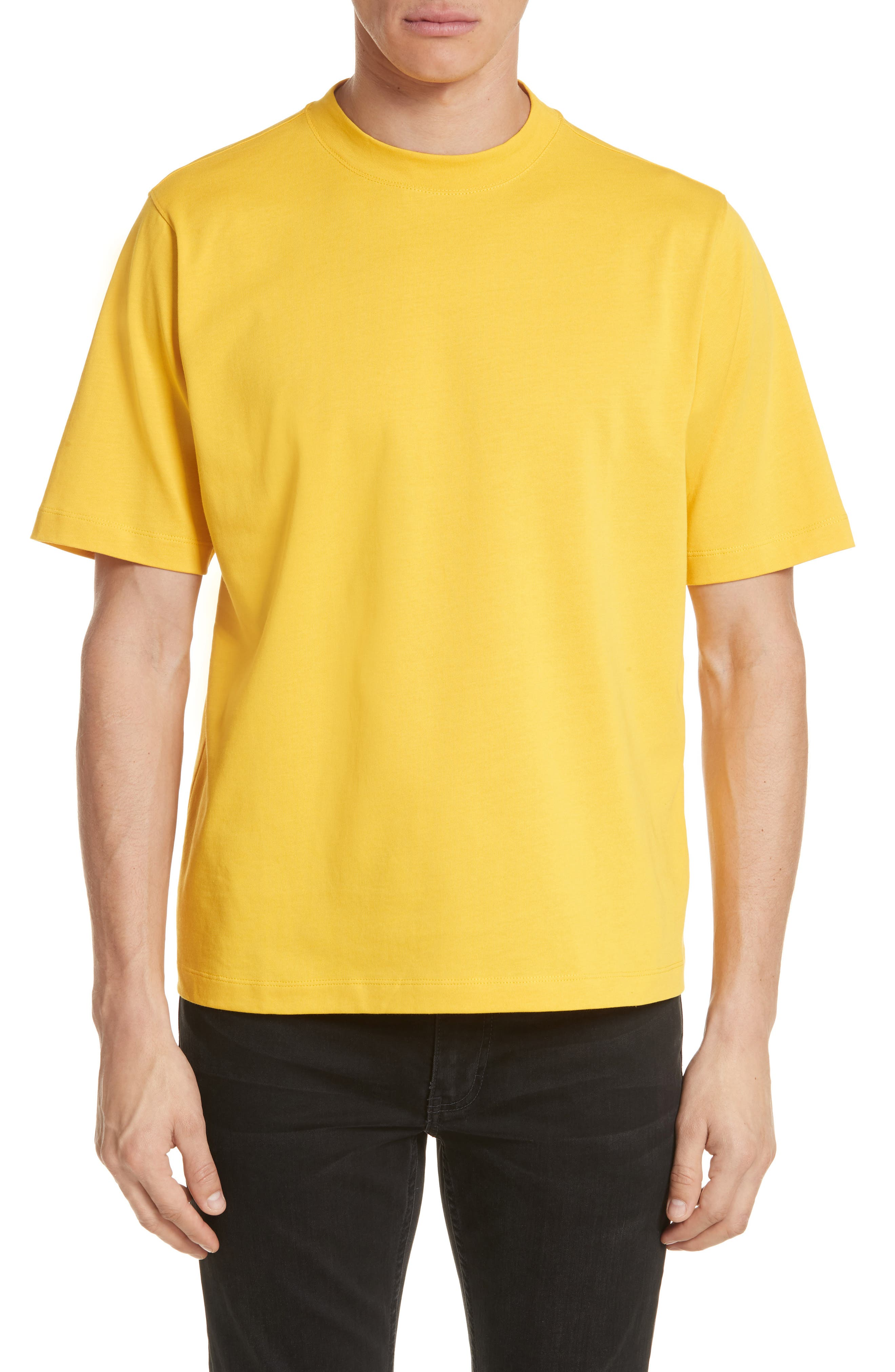 Tall T-Shirt,                         Main,                         color, Yellow
