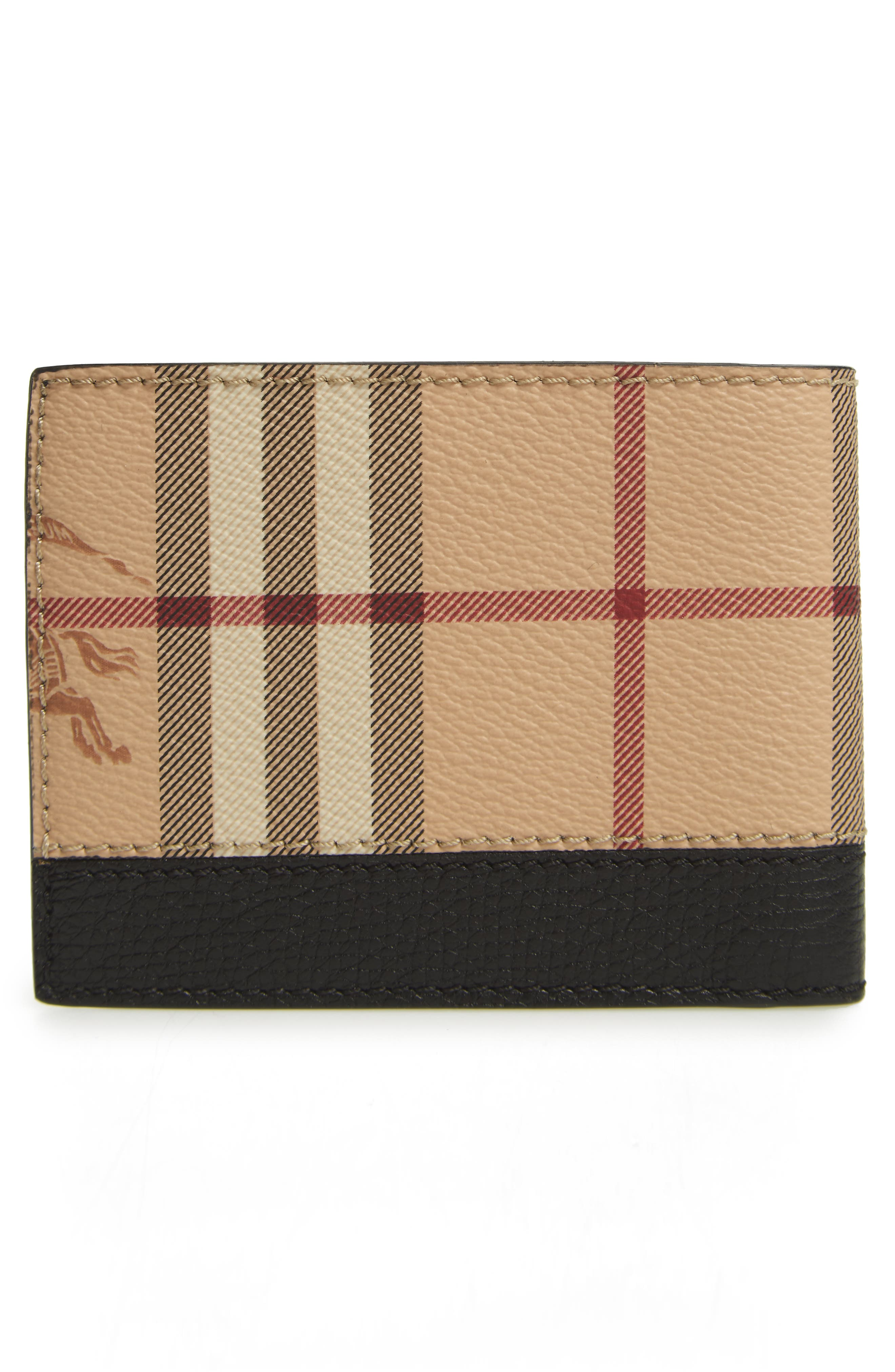 Haymarket Bifold Wallet,                             Alternate thumbnail 3, color,                             Black