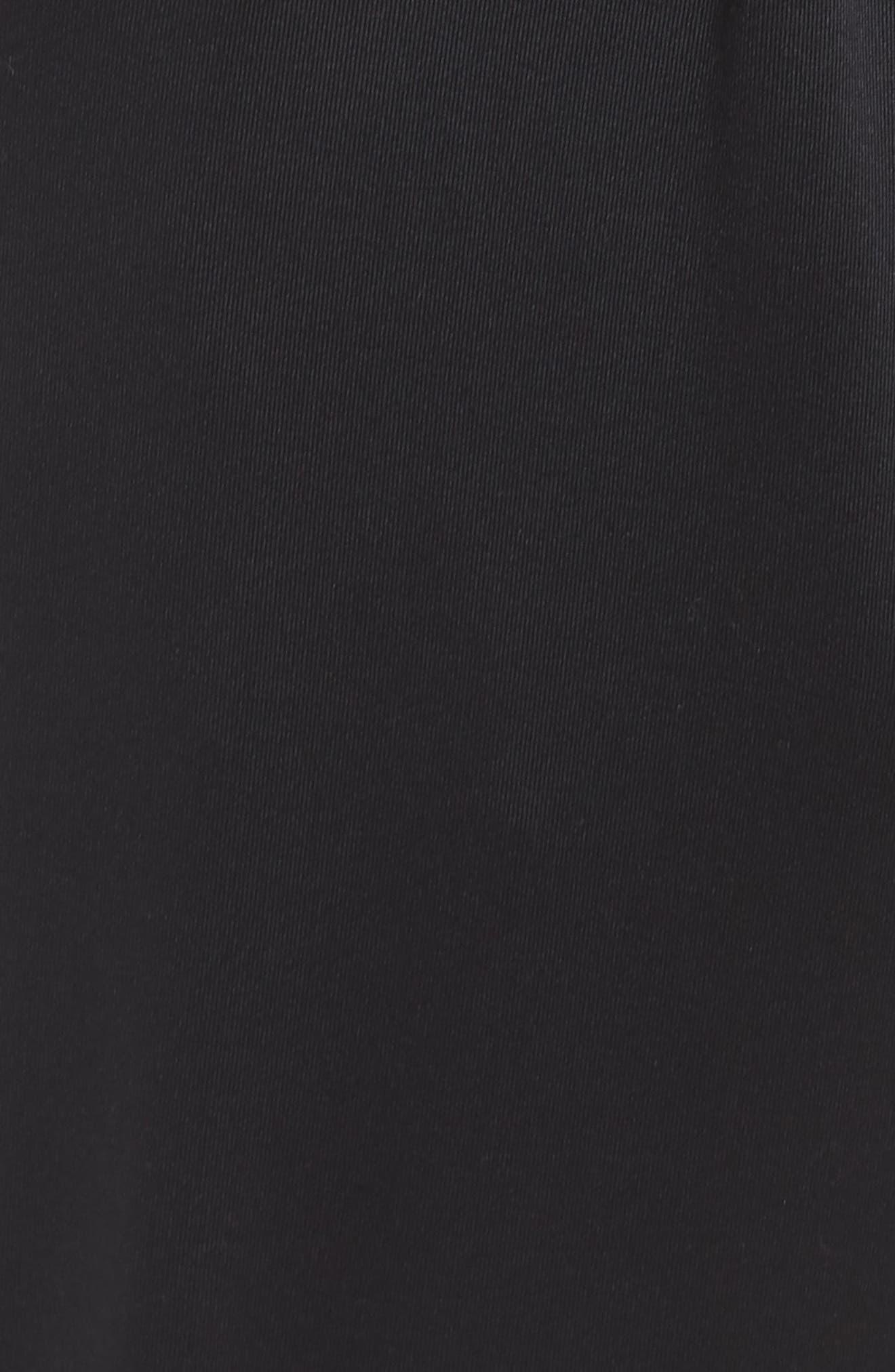 Dry Lux Flow Training Pants,                             Alternate thumbnail 5, color,                             Black/ Clear