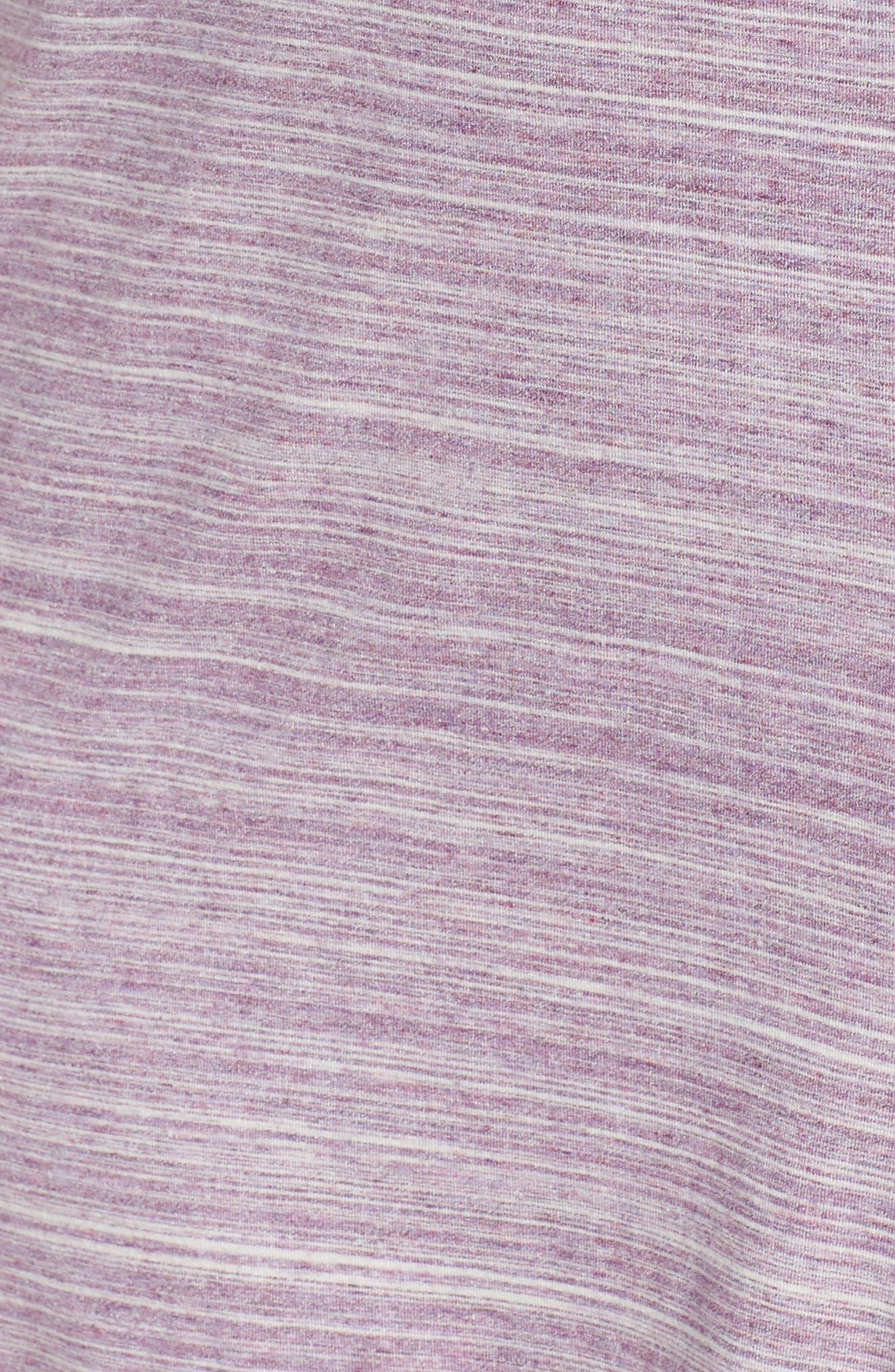 'Moonlight' Short Pajamas,                             Alternate thumbnail 5, color,                             Purple Spacedye