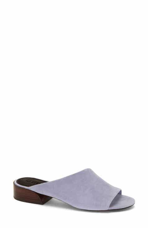 Purple Block Heel Sandals For Women Nordstrom