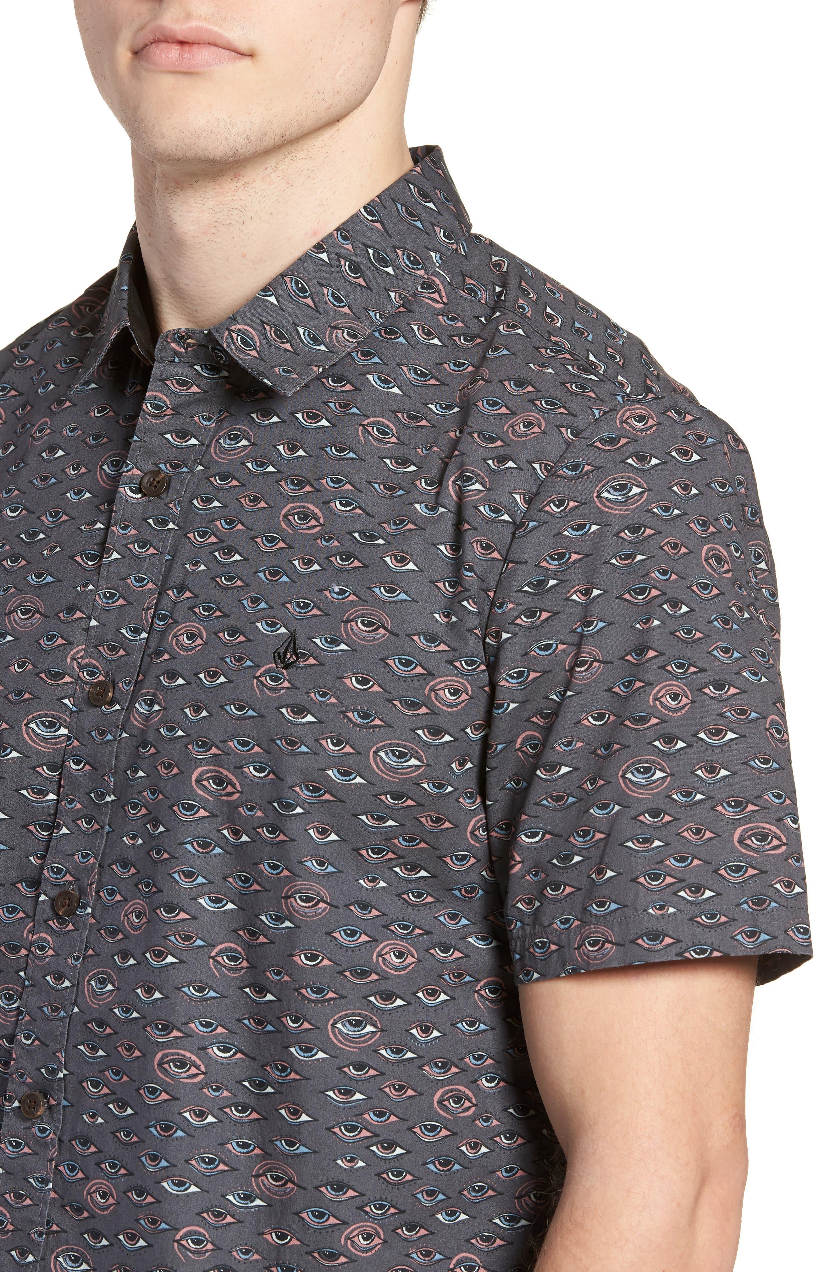 Alternate Image 4  - Volcom Burch Woven Shirt