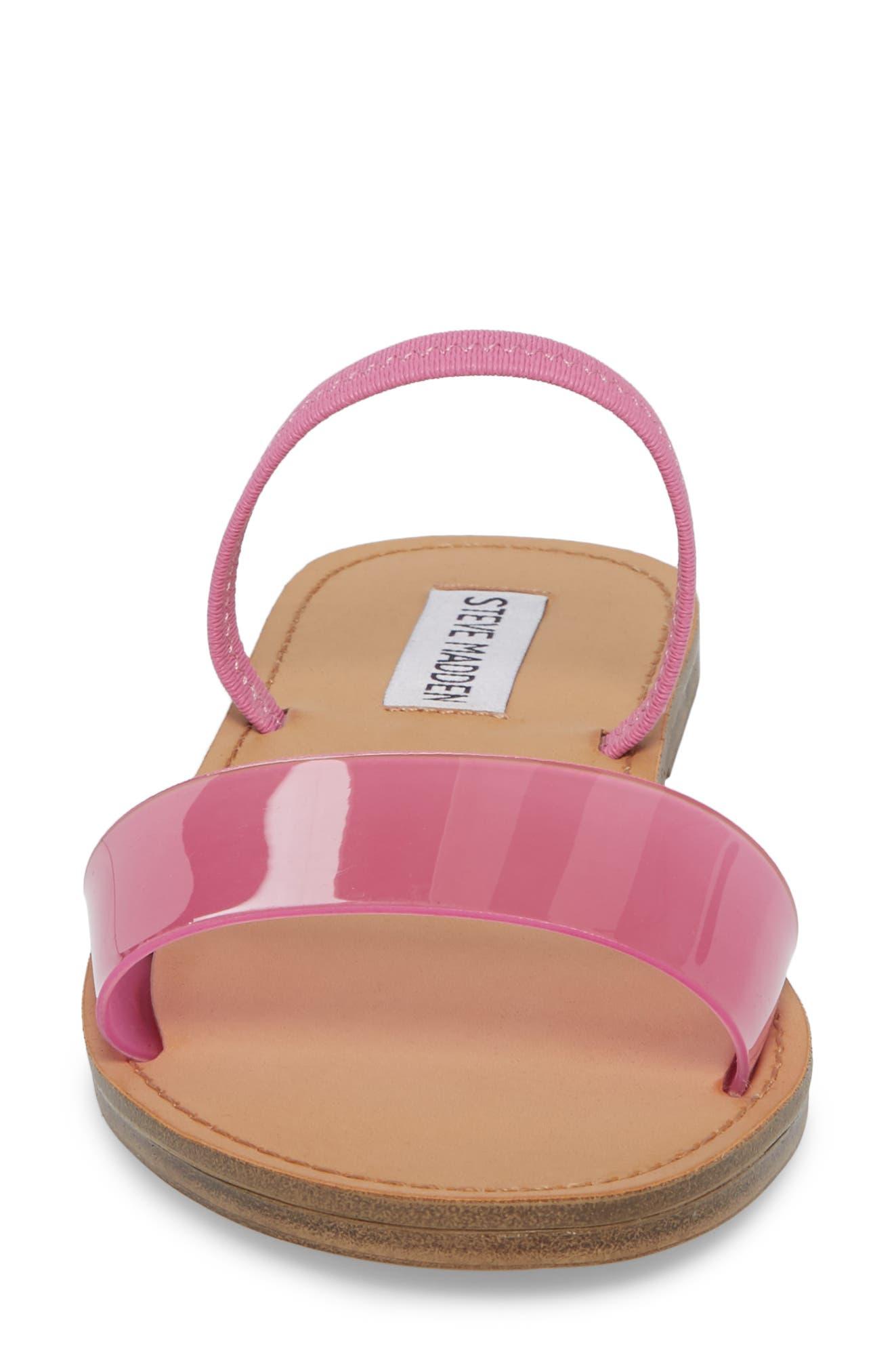 Alternate Image 4  - Steve Madden Dasha Strappy Slide Sandal (Women)