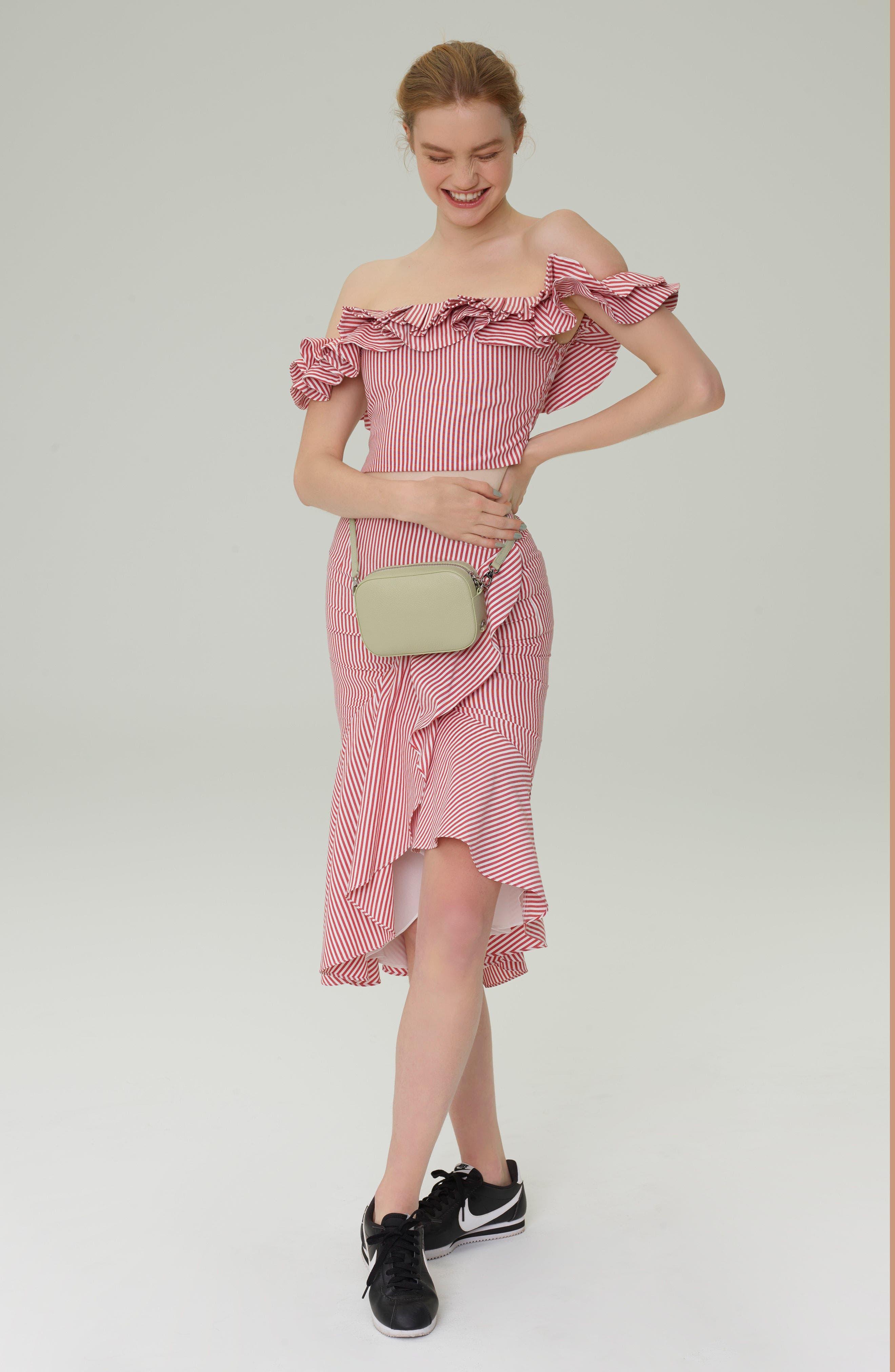 Naples Ruffle Skirt,                             Alternate thumbnail 10, color,